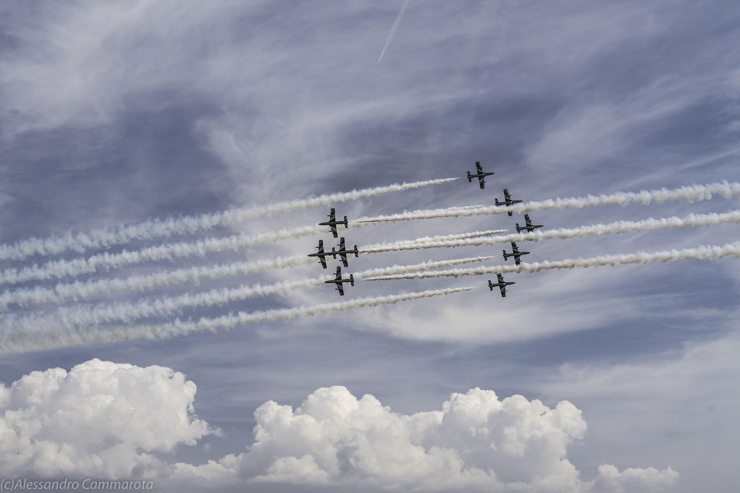 Pattuglia Acrobatica Nazionale Aeroporto Grazzanise CE...
