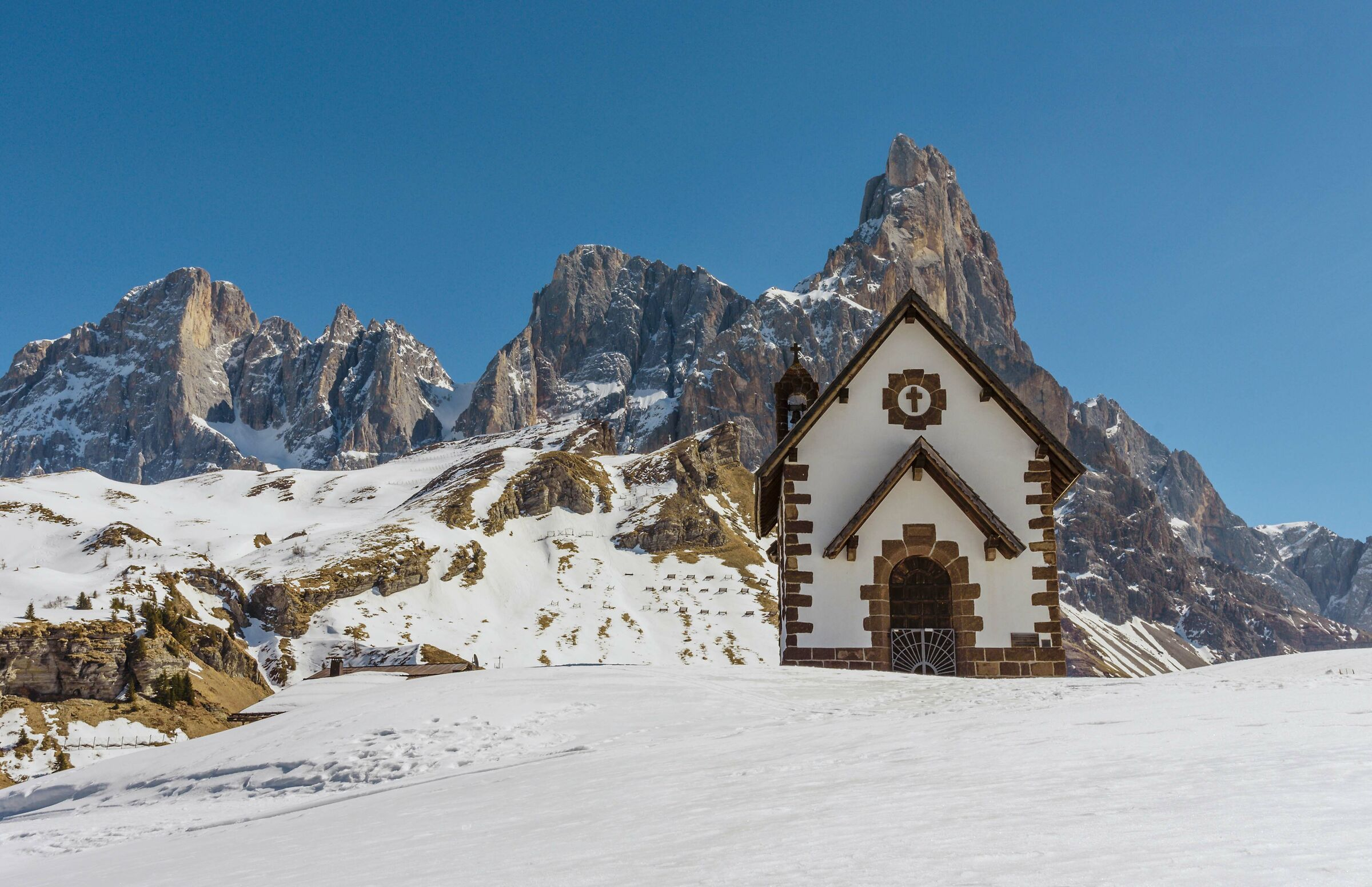 Church of the pass Rolle...