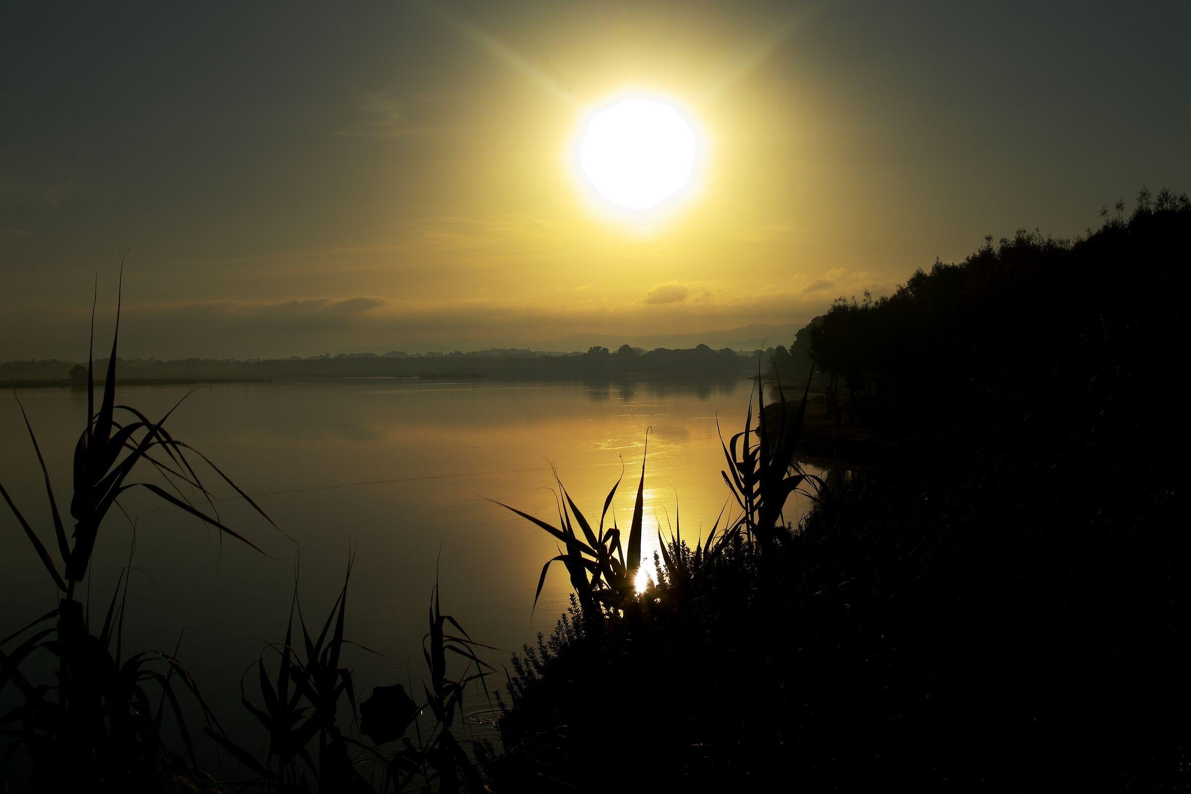 Sunrise in Laguna Fertilia...