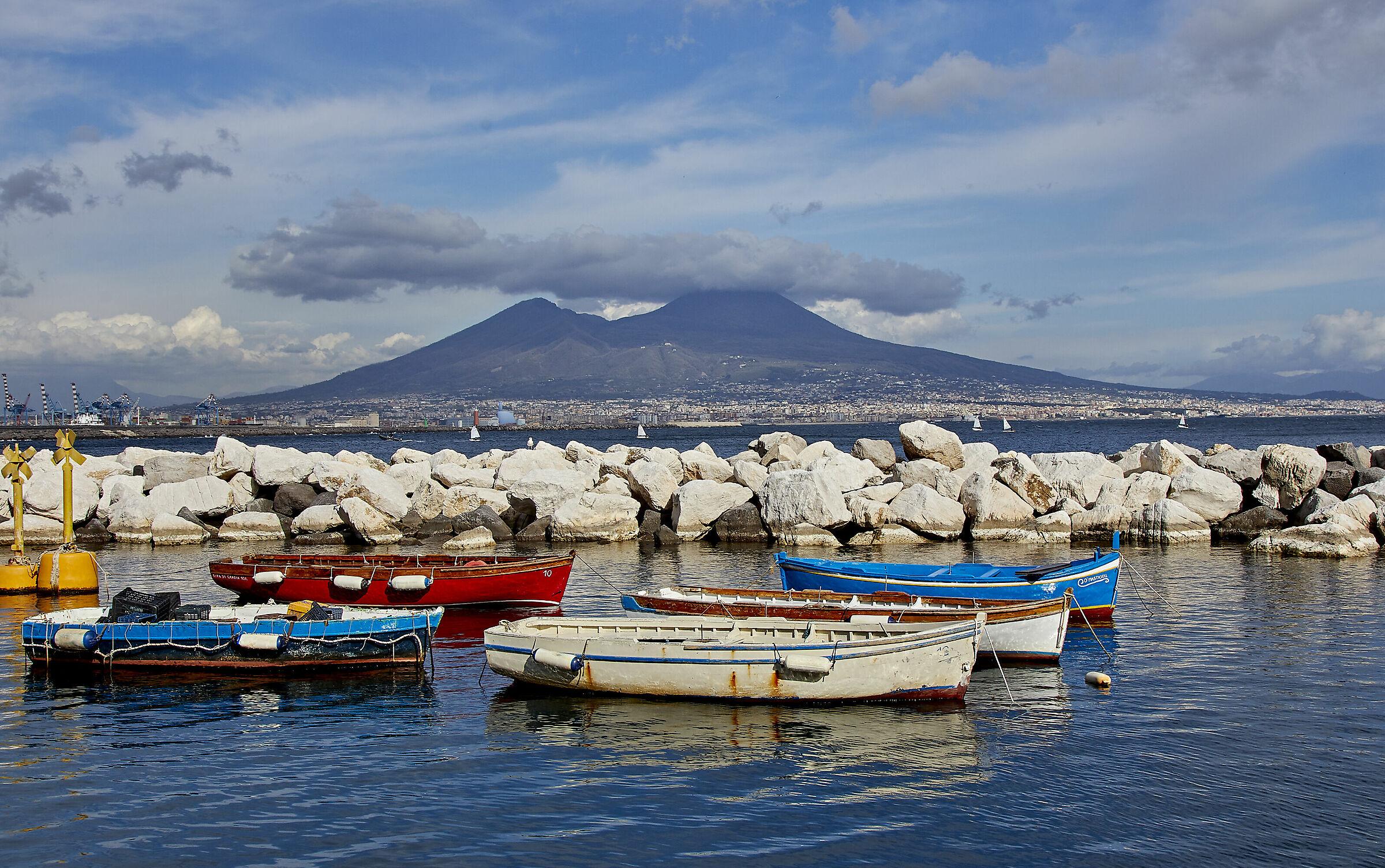 The Vesuvius...