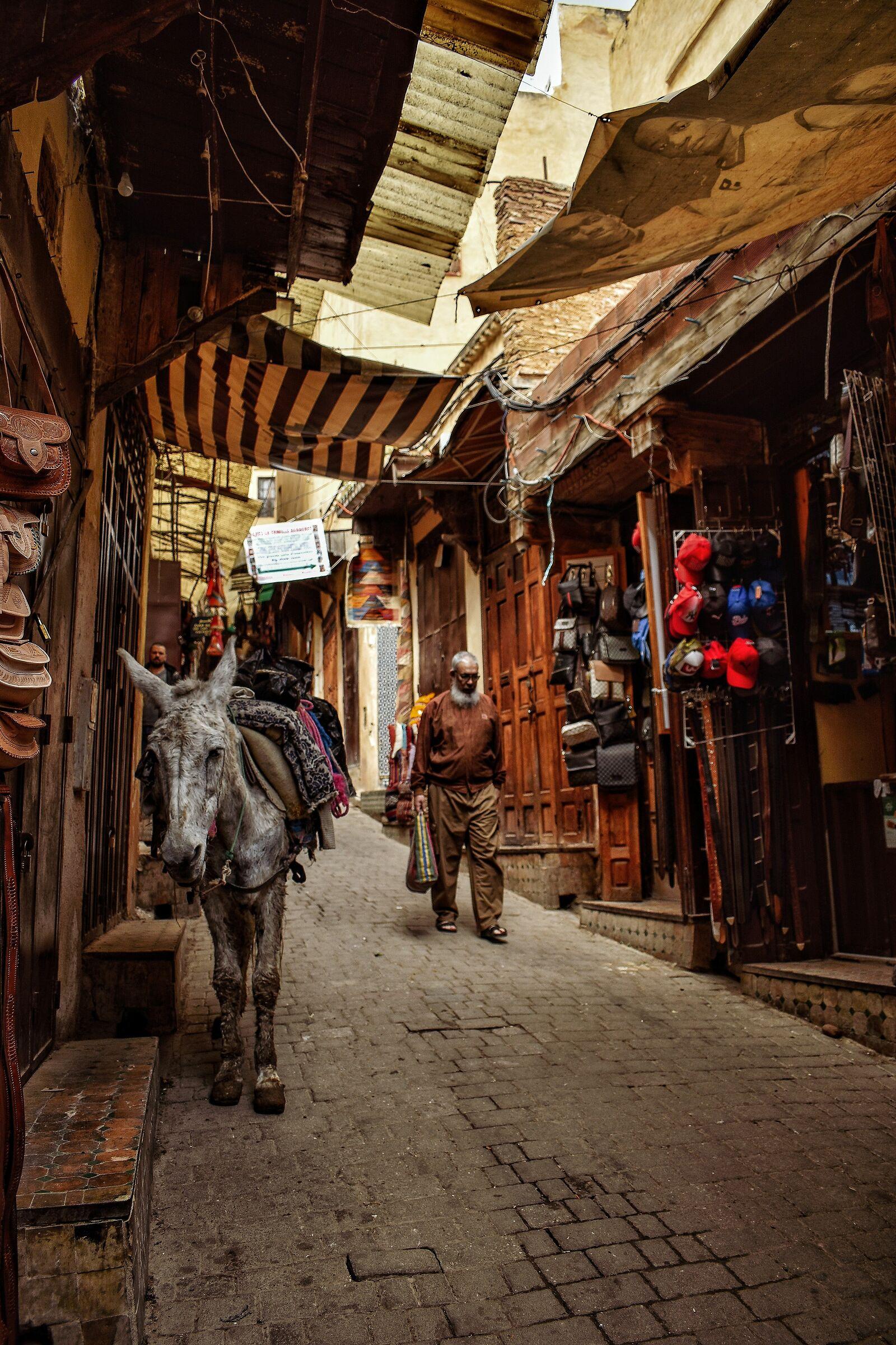 La Medina di Fes...