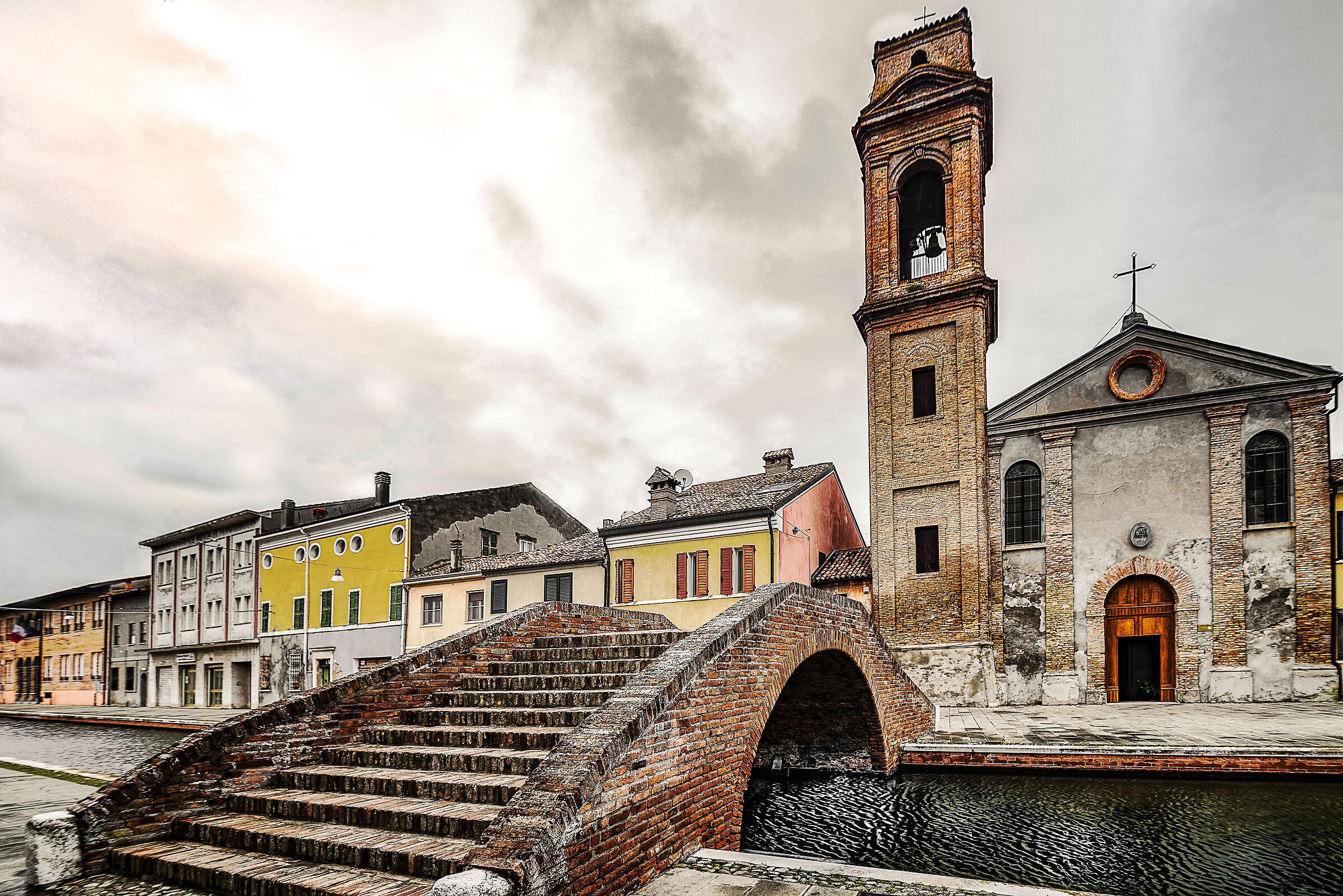 Church in Comacchio...