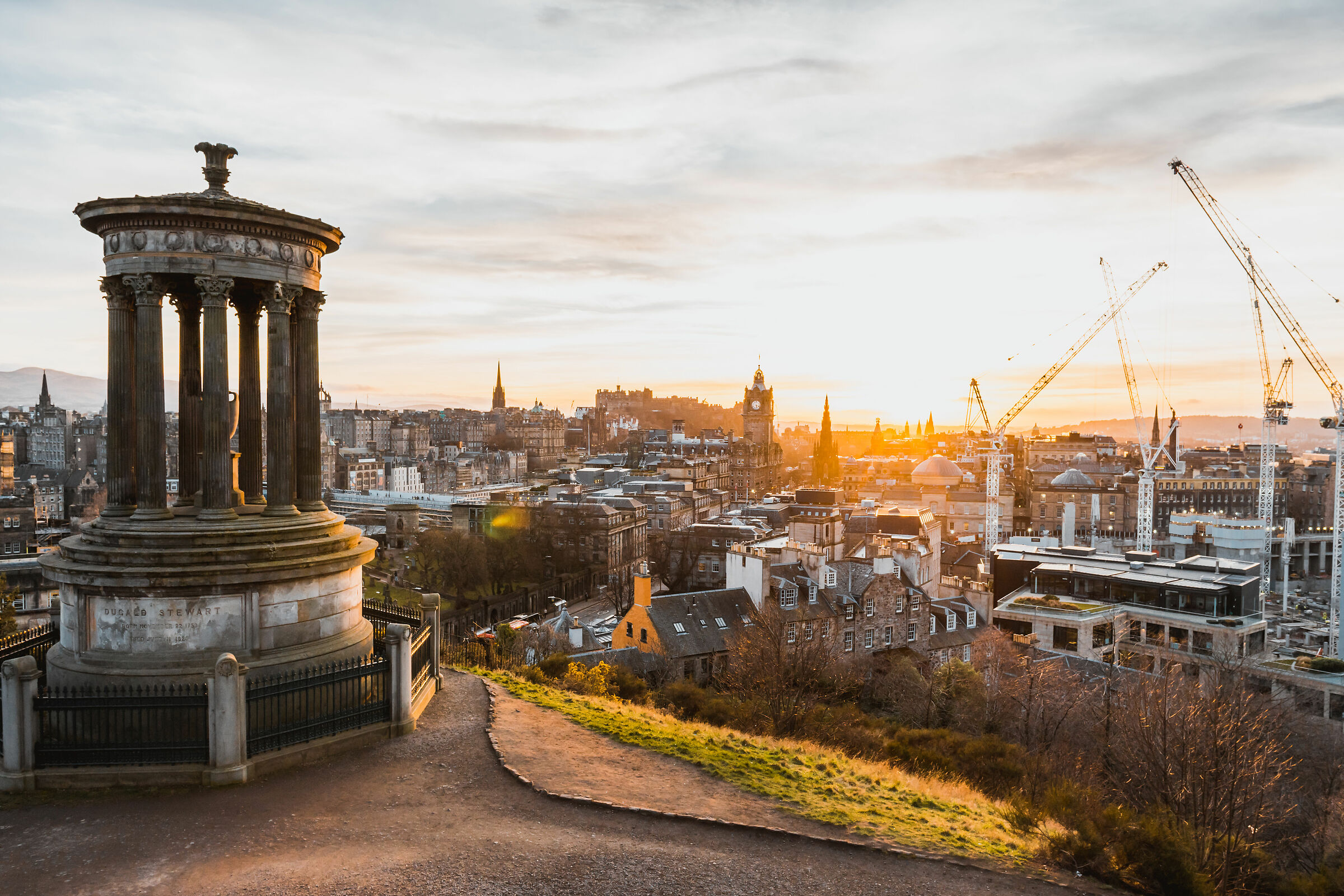 Edinburgh, Calton Hill...
