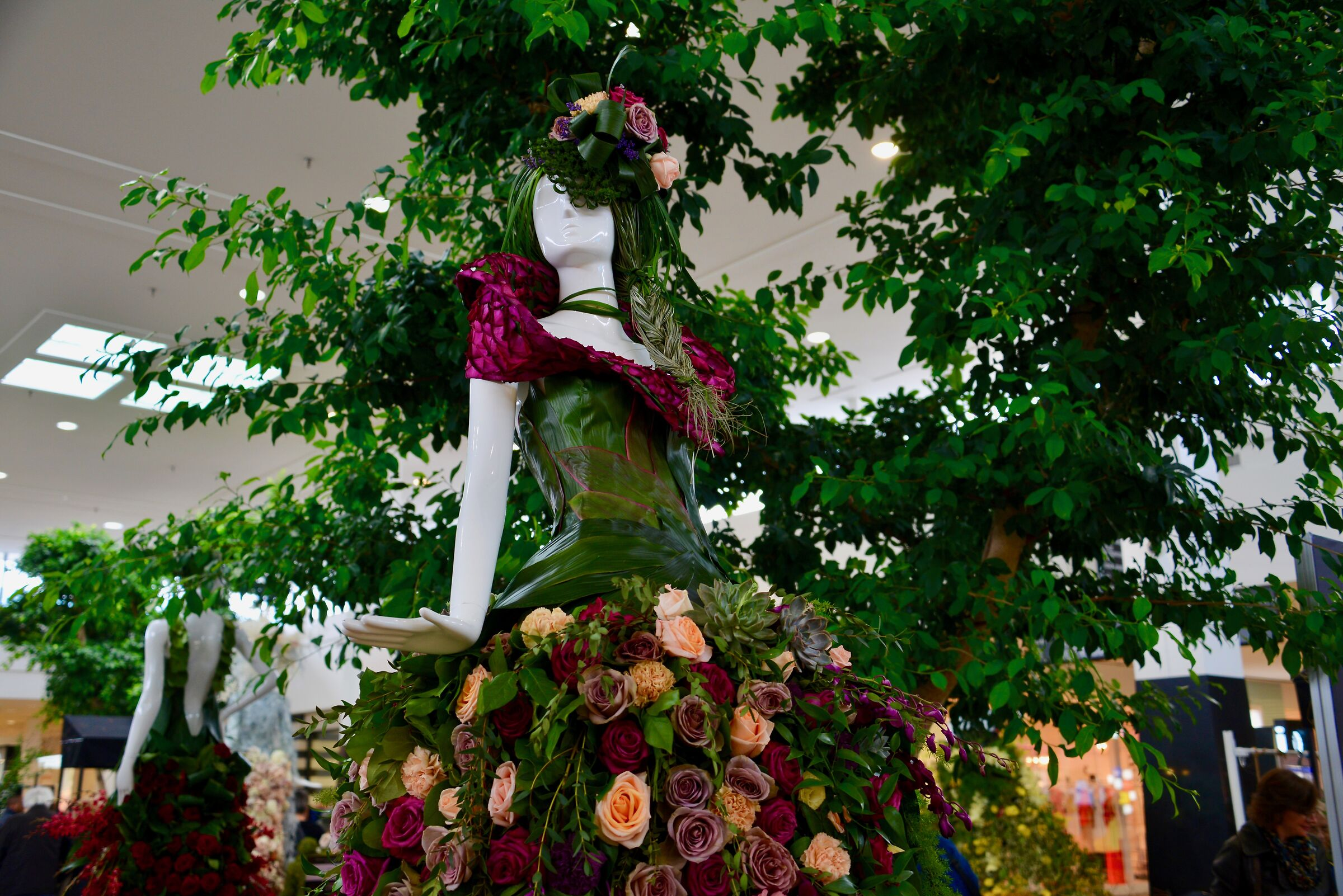 The lady in bloom - Quebec City...