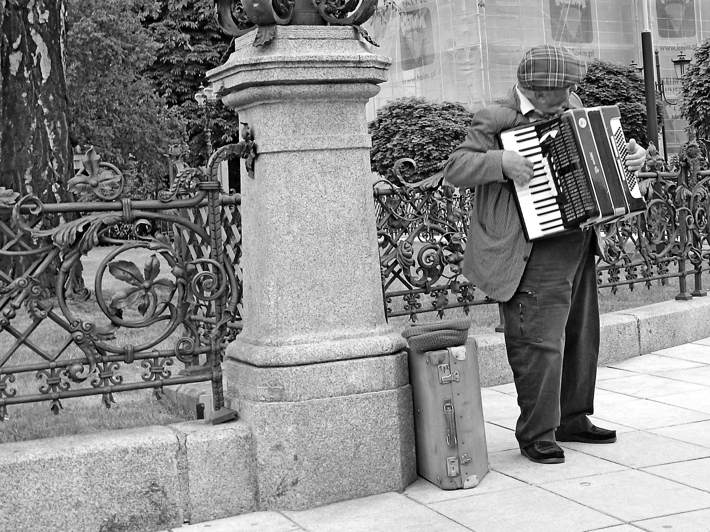 Warsaw street/centrum...