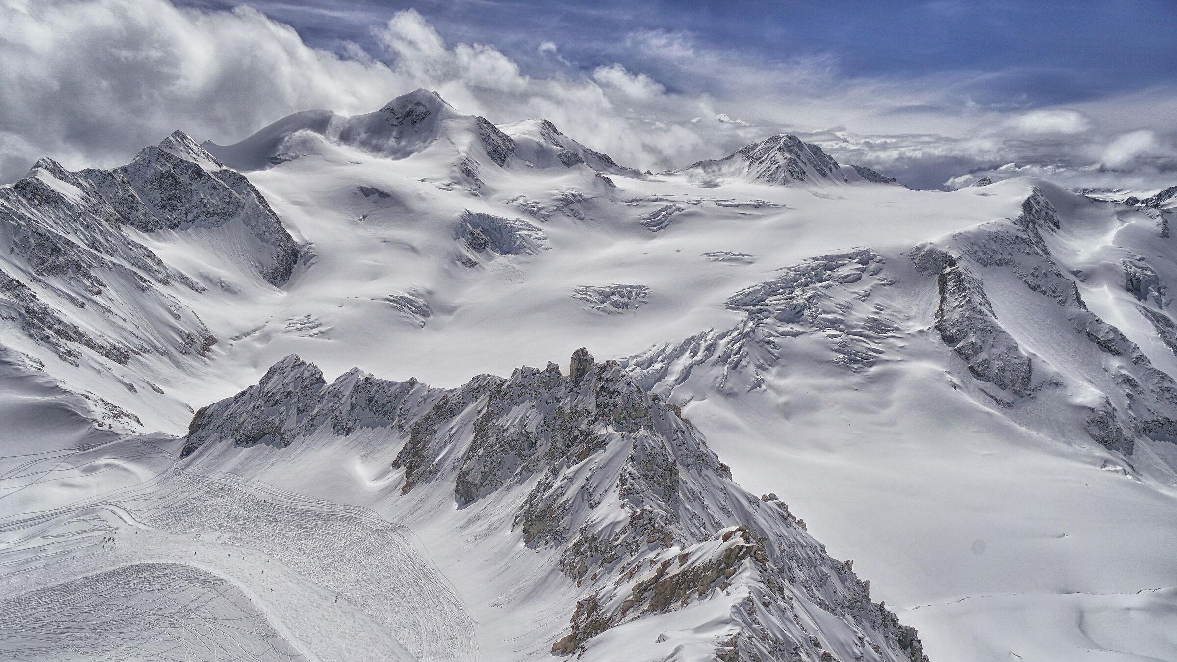 Wildspitze, 3770 m, Austria, May 2019...
