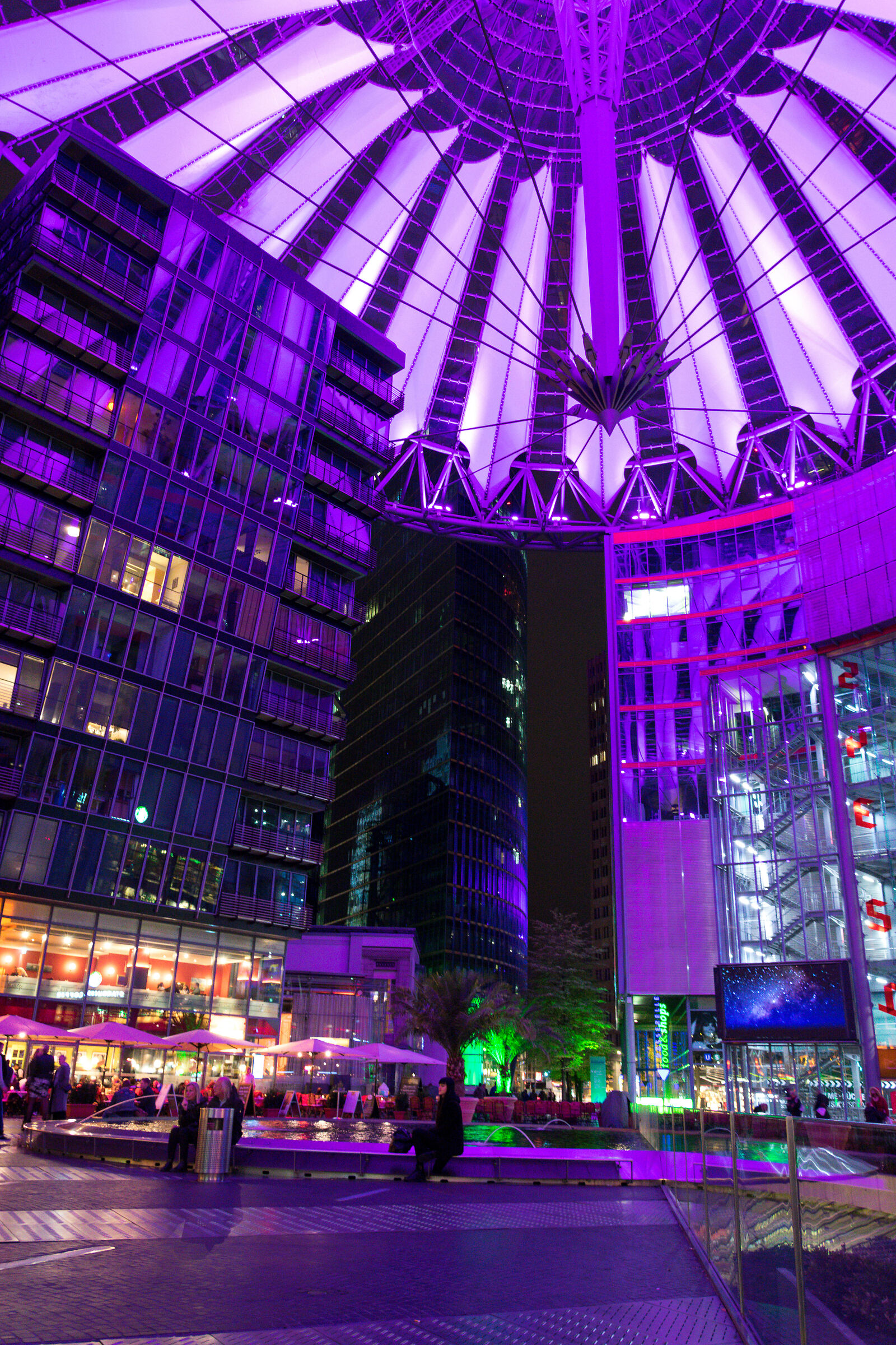 Purple Sony Centre...