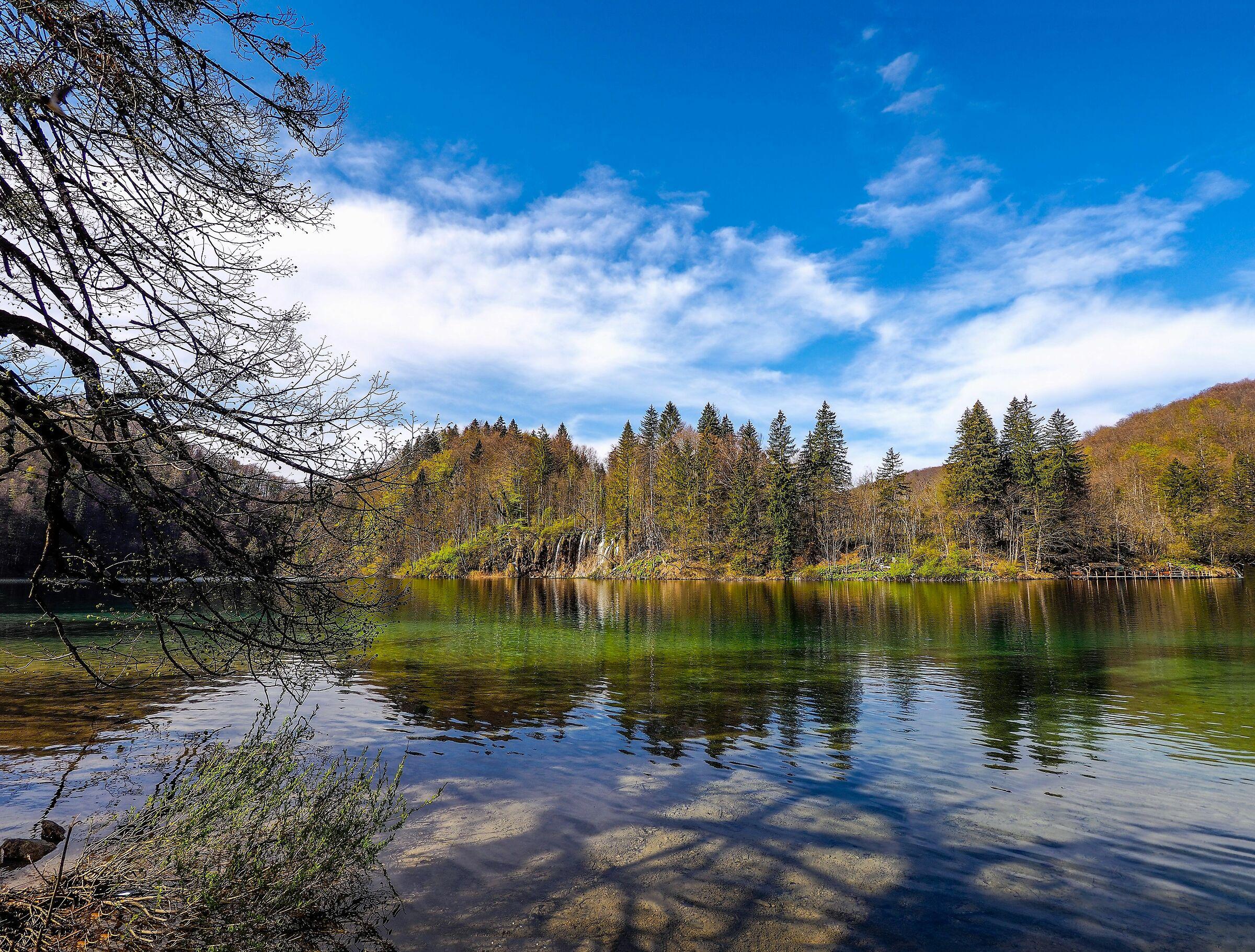 Lower Lake Plitvice...