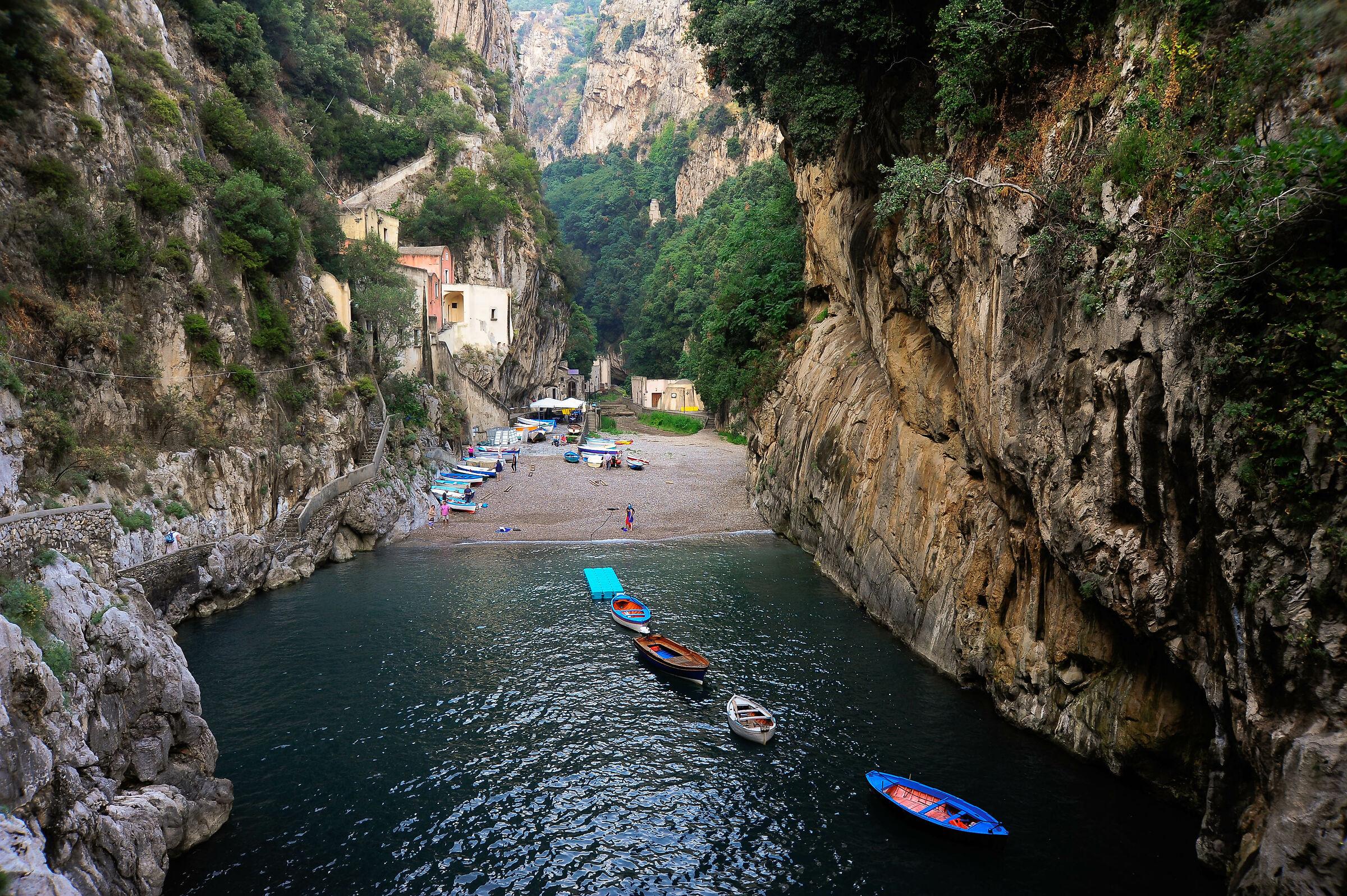 Fiordo di Furore, Amalfi Coast...