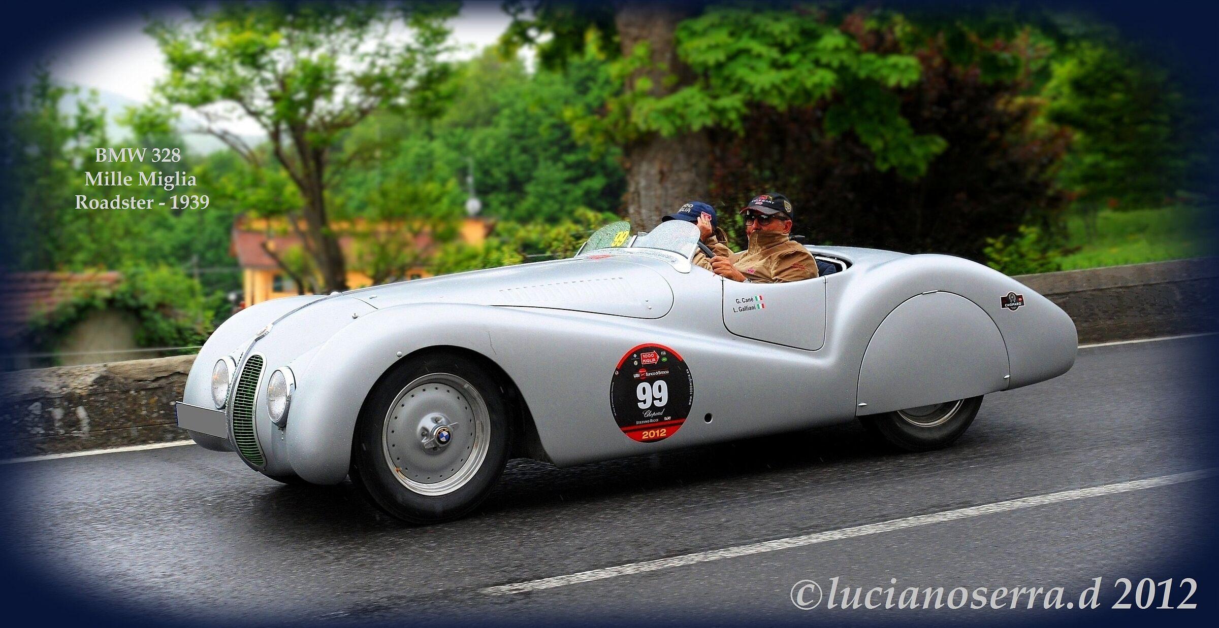 BMW 328 Mille Miglia Roadster - 1939 | JuzaPhoto