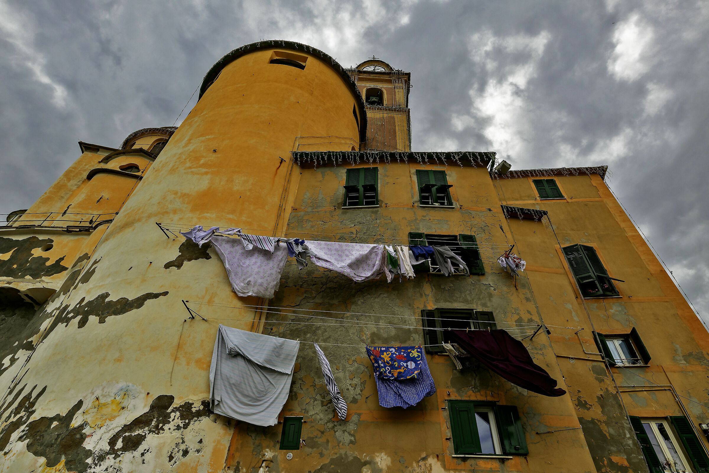 Laundry in Camogli...