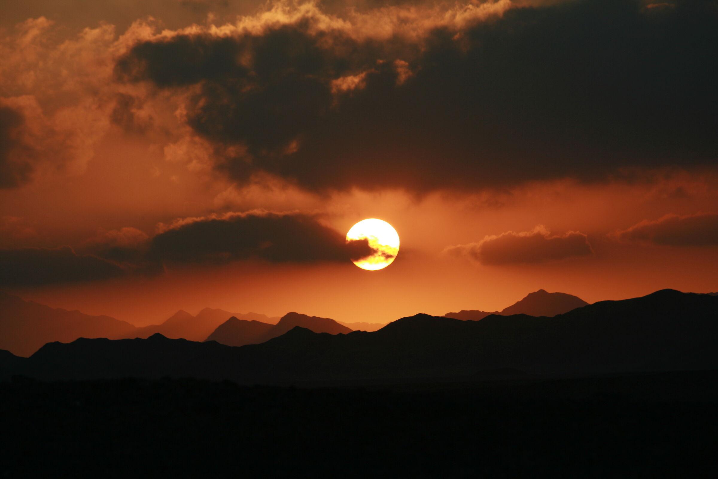 Fire Sunset...