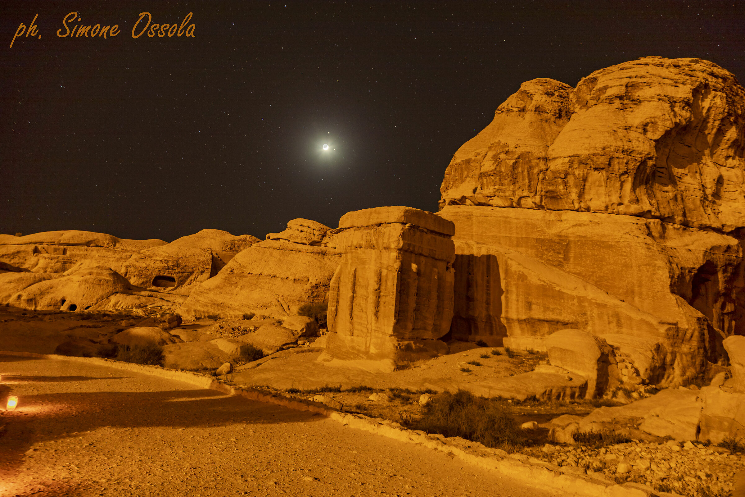 The road to Petra...