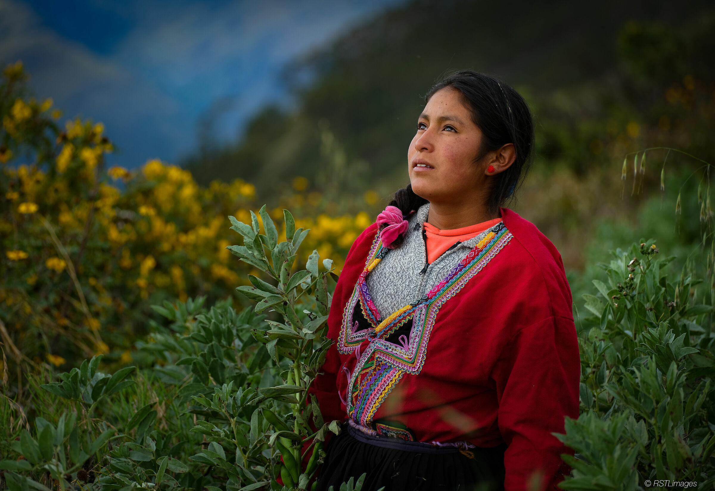 Peruvian Girl...