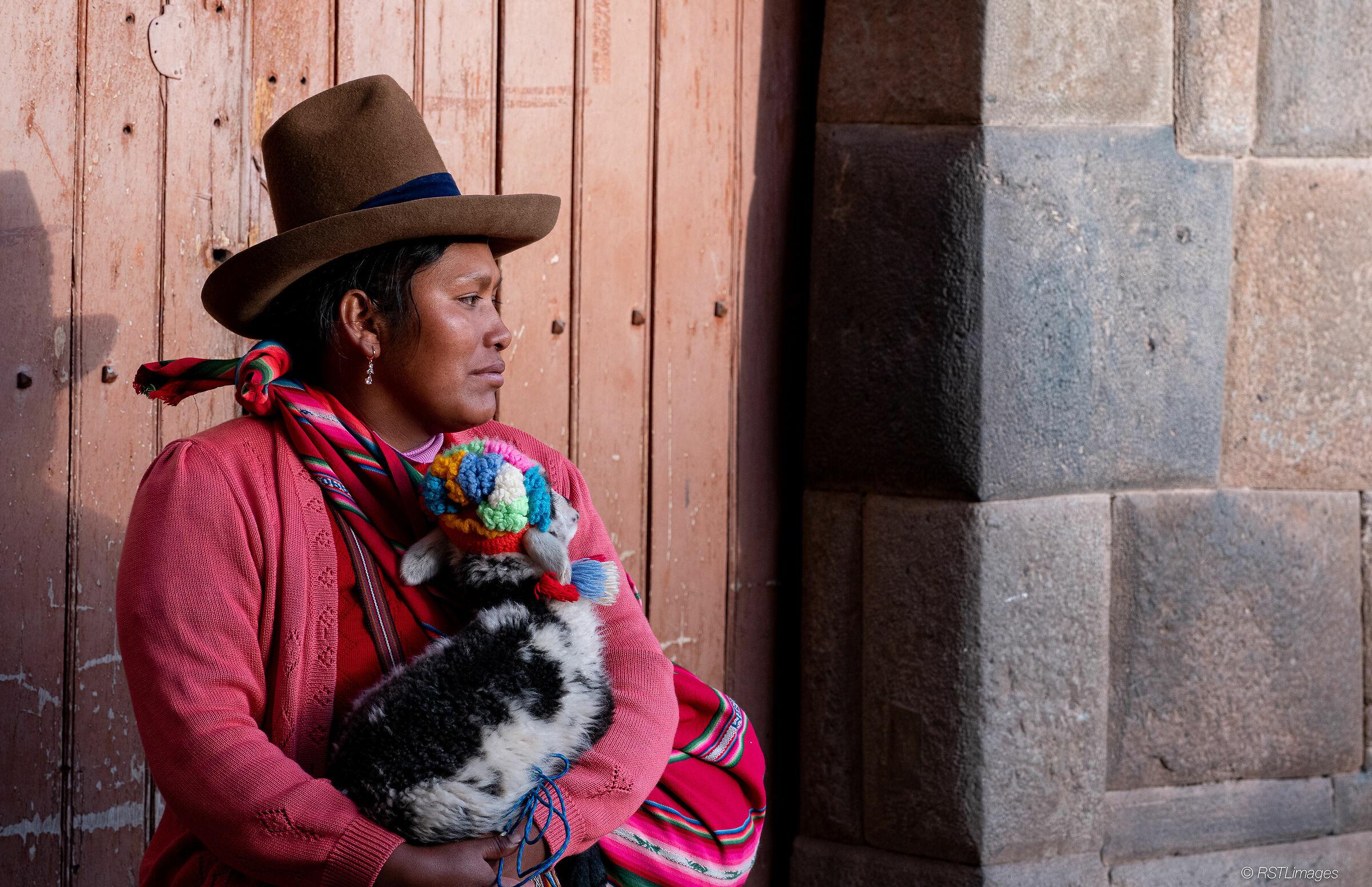 Peruvian Woman...