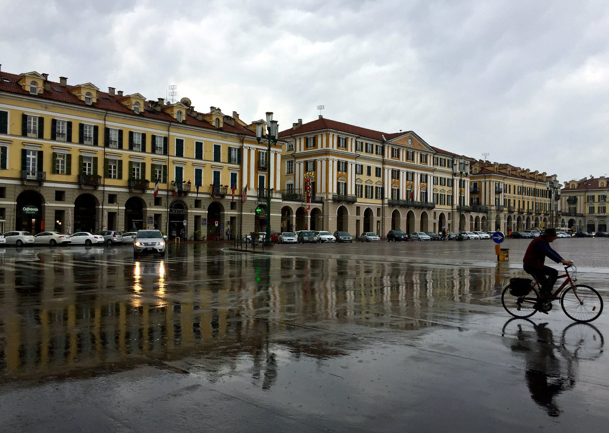 Postcard from Cuneo...