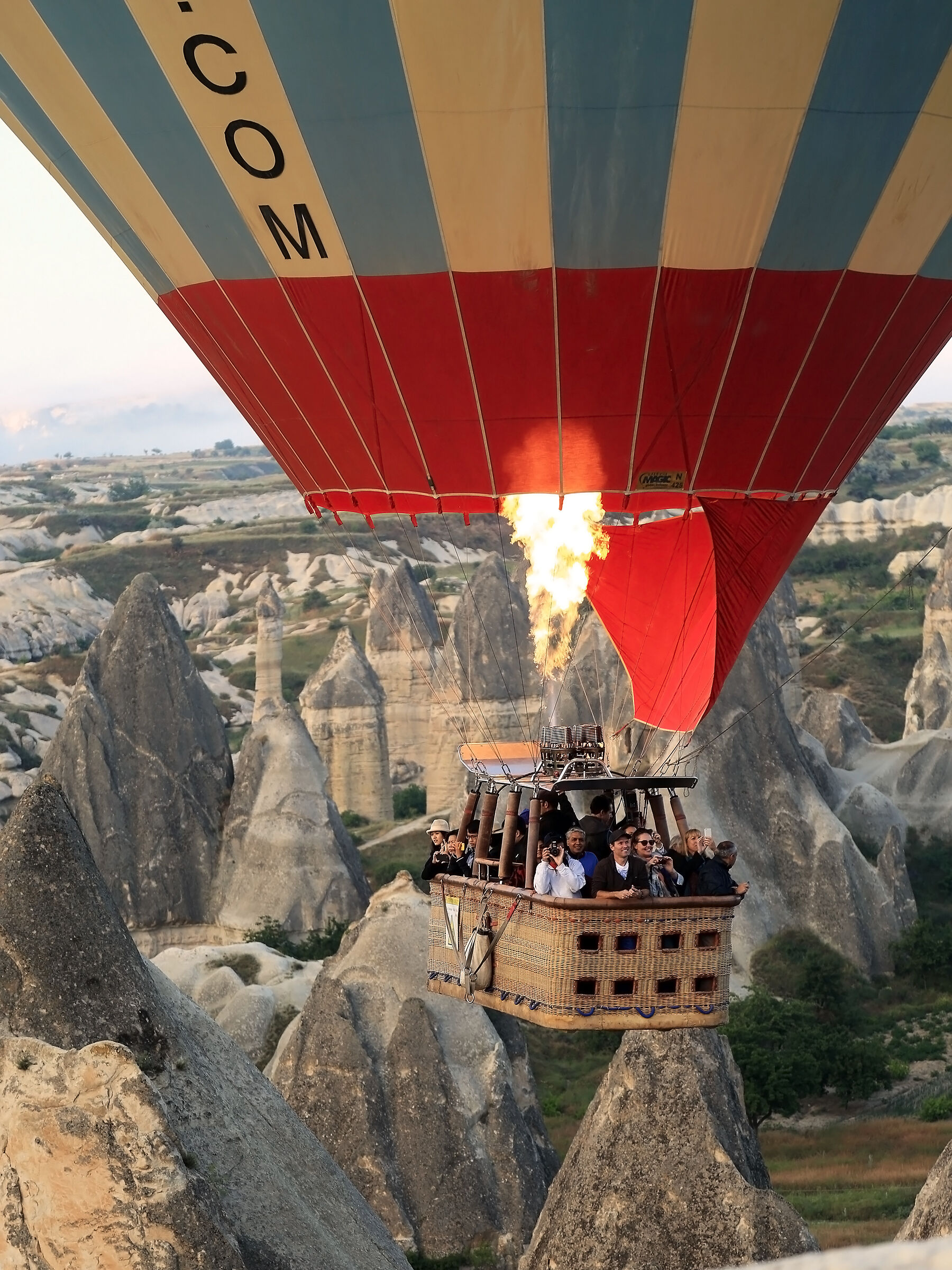 Flying over the Fairy Chimneys...
