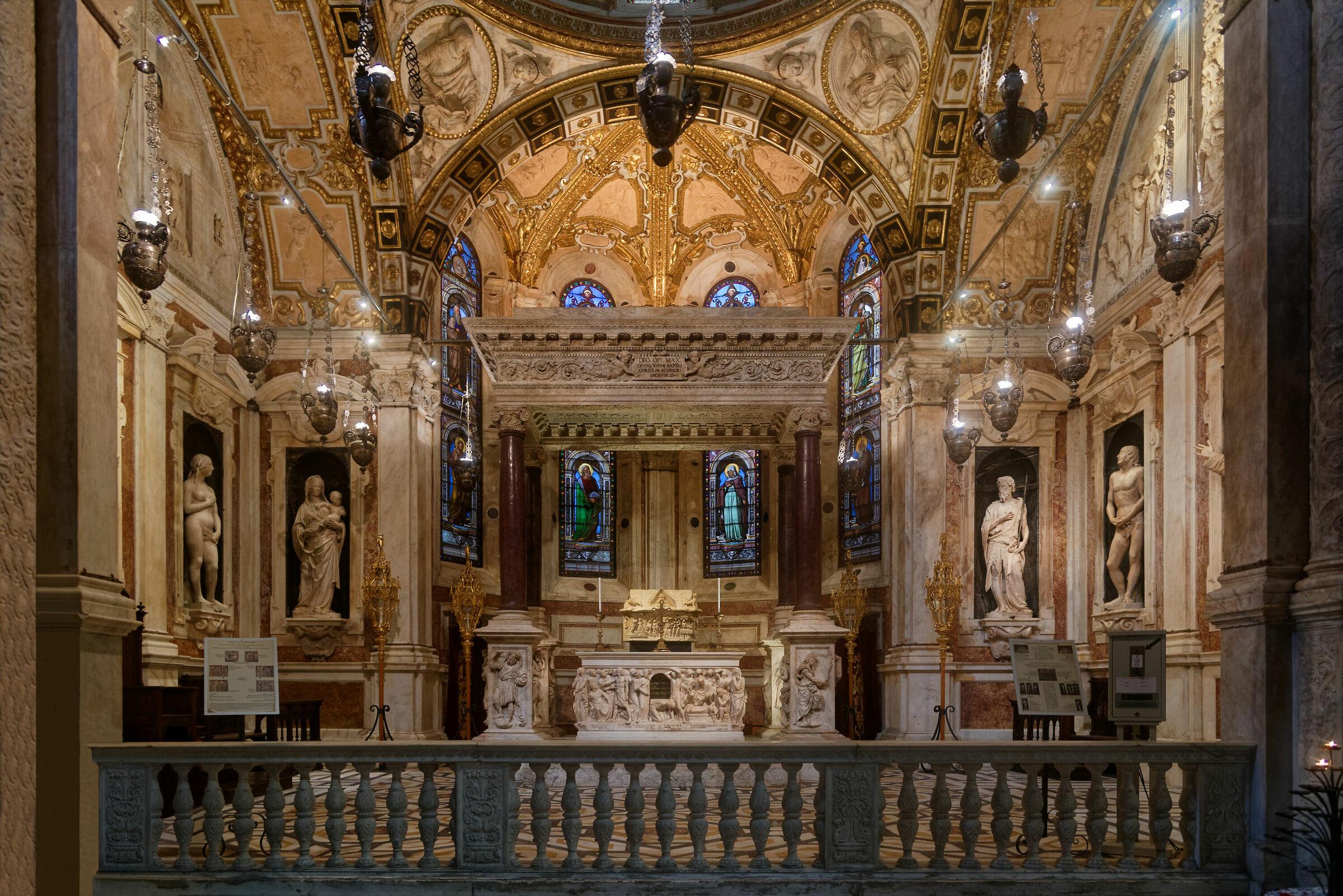 San Lorenzo (ge): Cappella di S. Giovanni Battista...