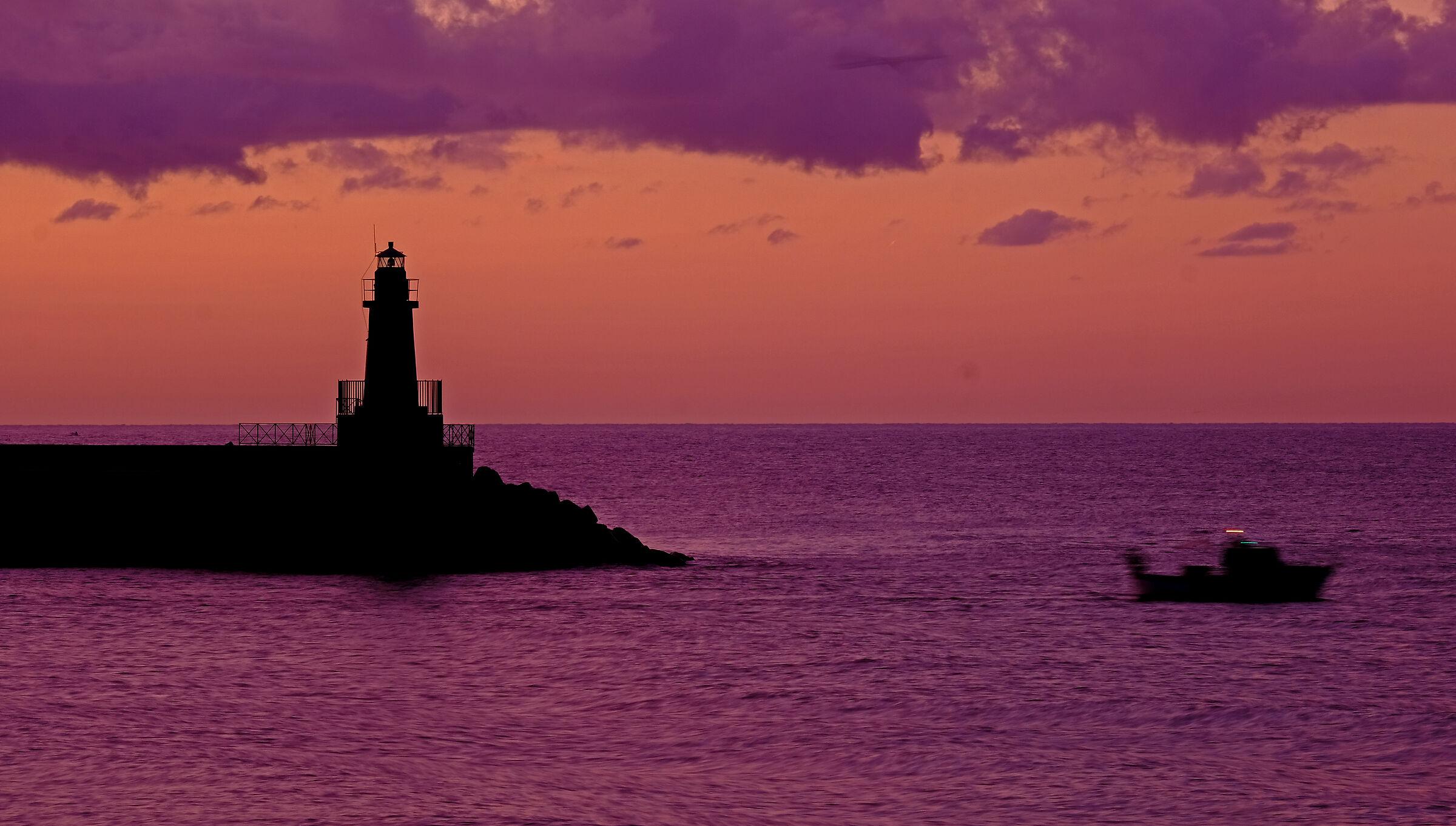 Sunrise at the Lighthouse...