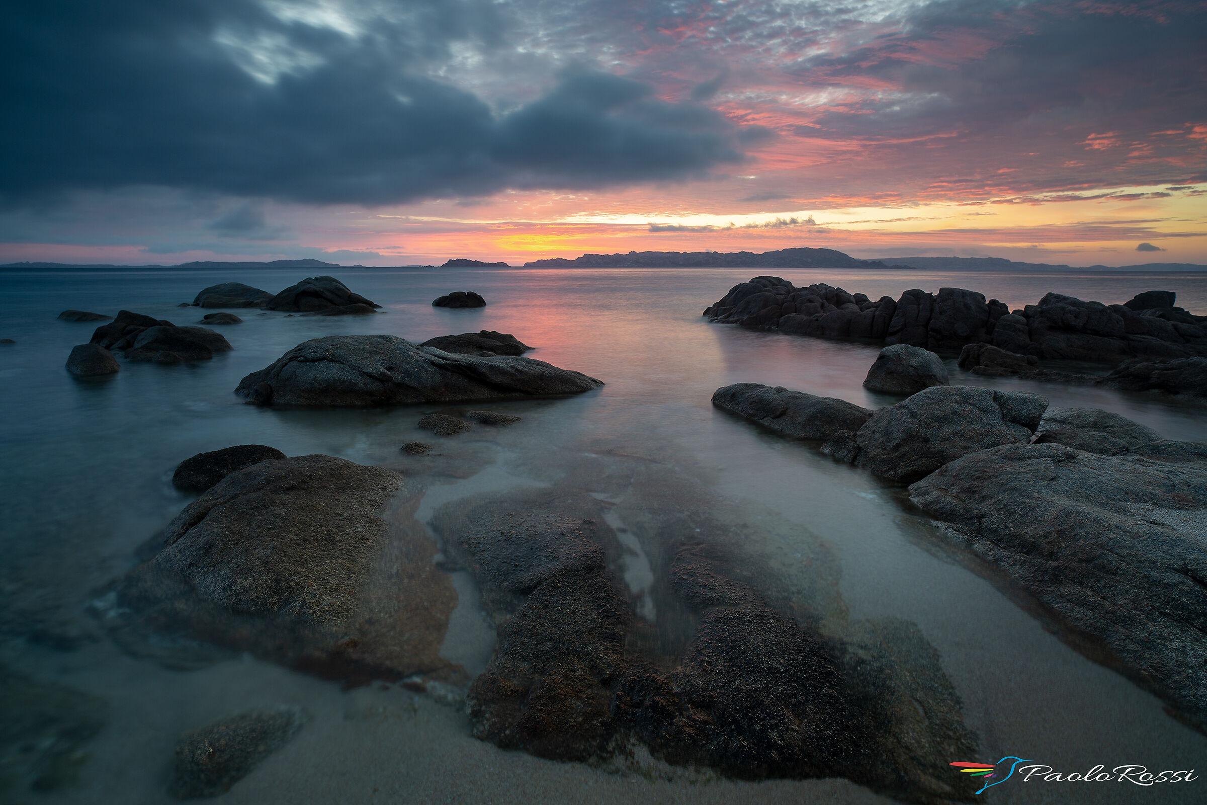 Sunrise at the Licciola...