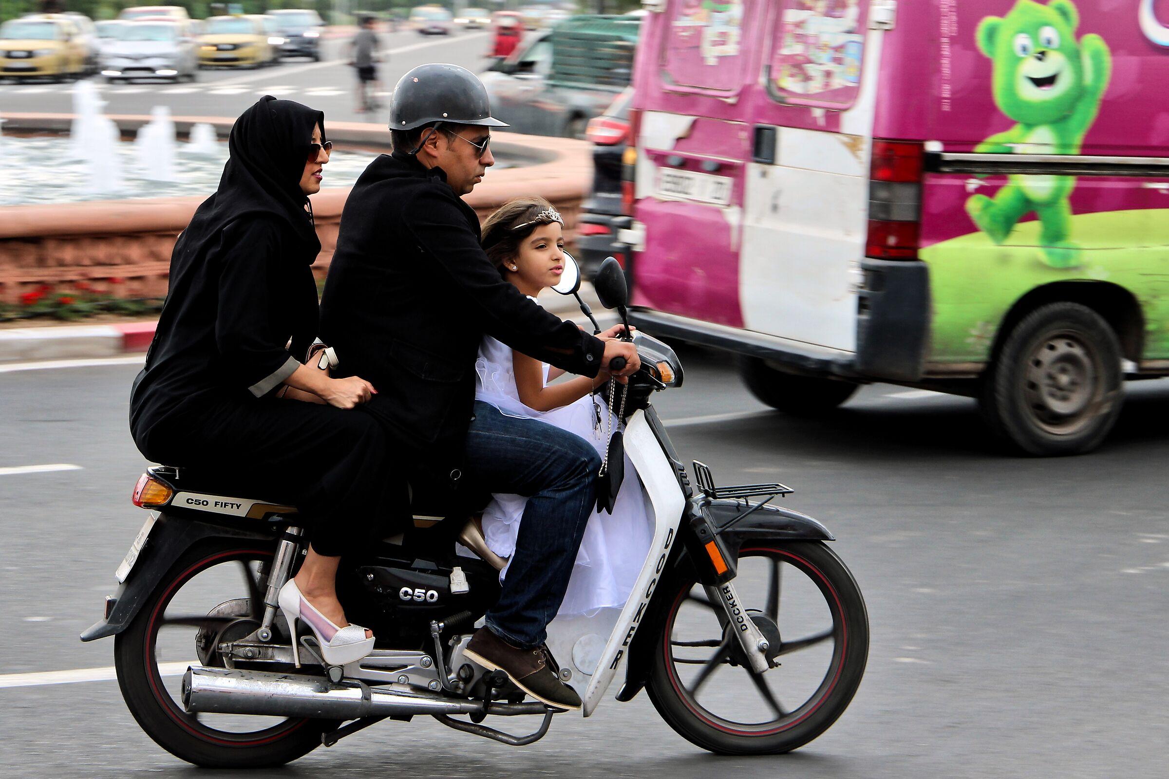 chador e tacchi a spillo - Marrakech...
