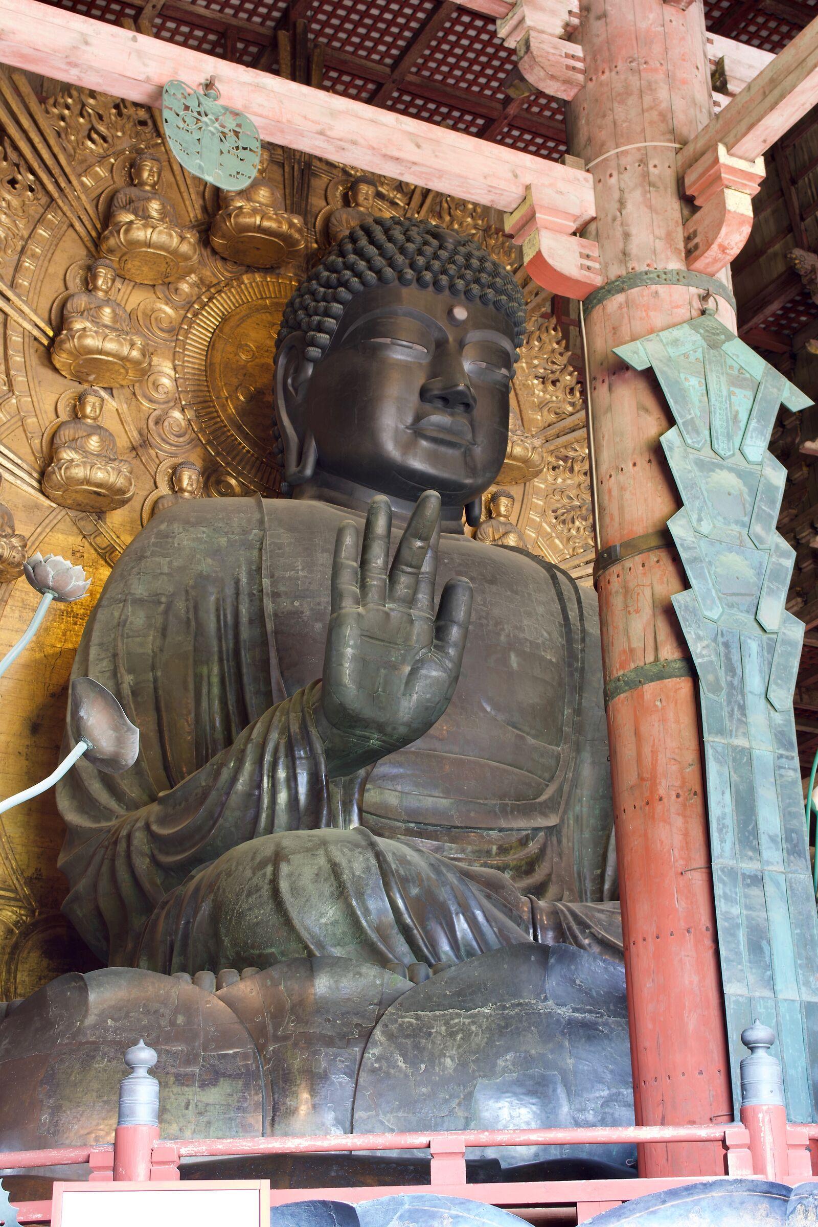 Great Buddha in Todai-ji...
