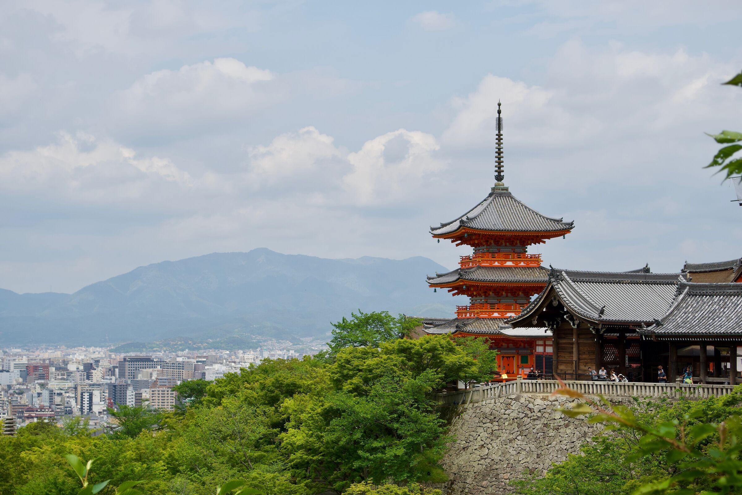 Kiyomizu-dera...