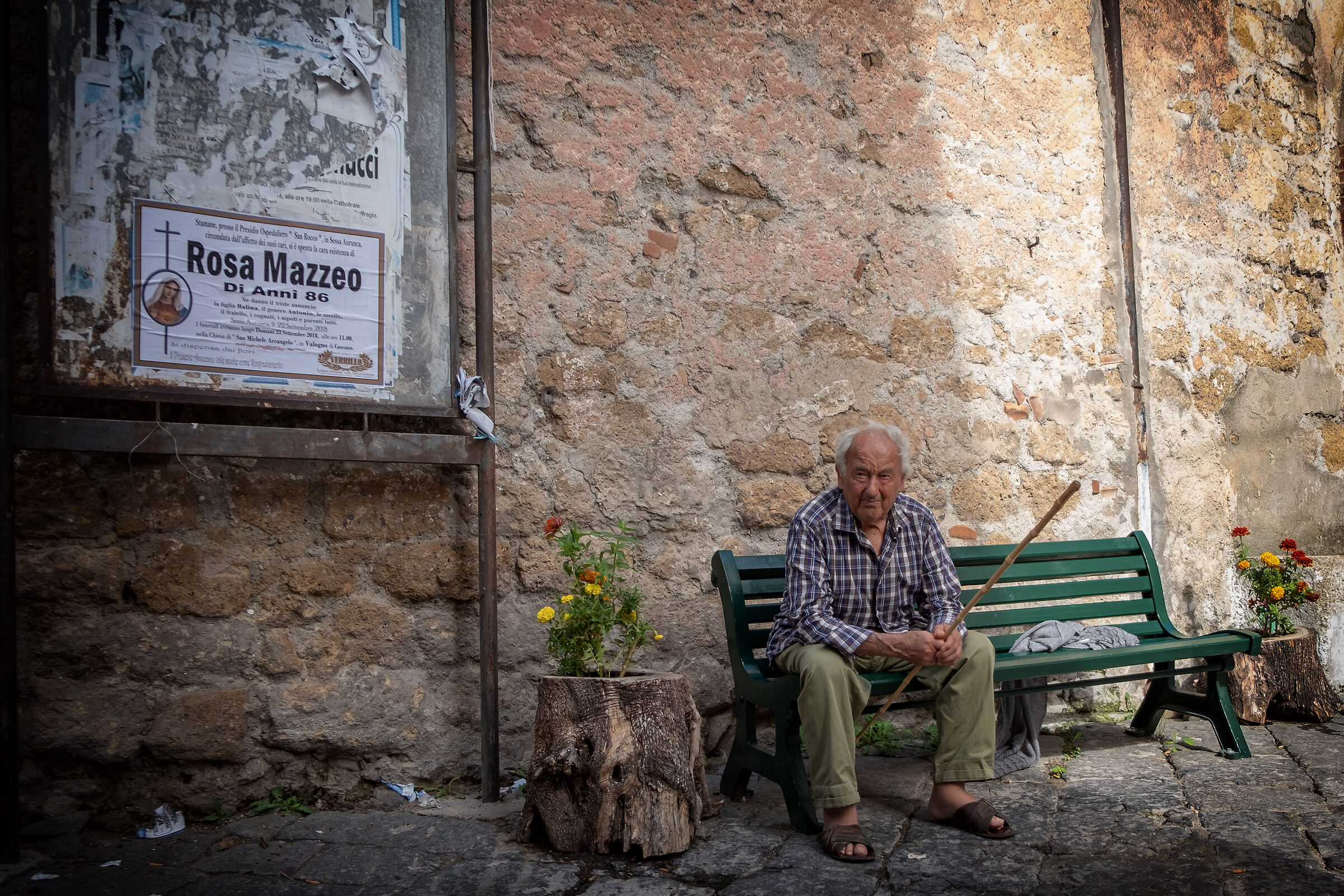 In the village of Valogno...