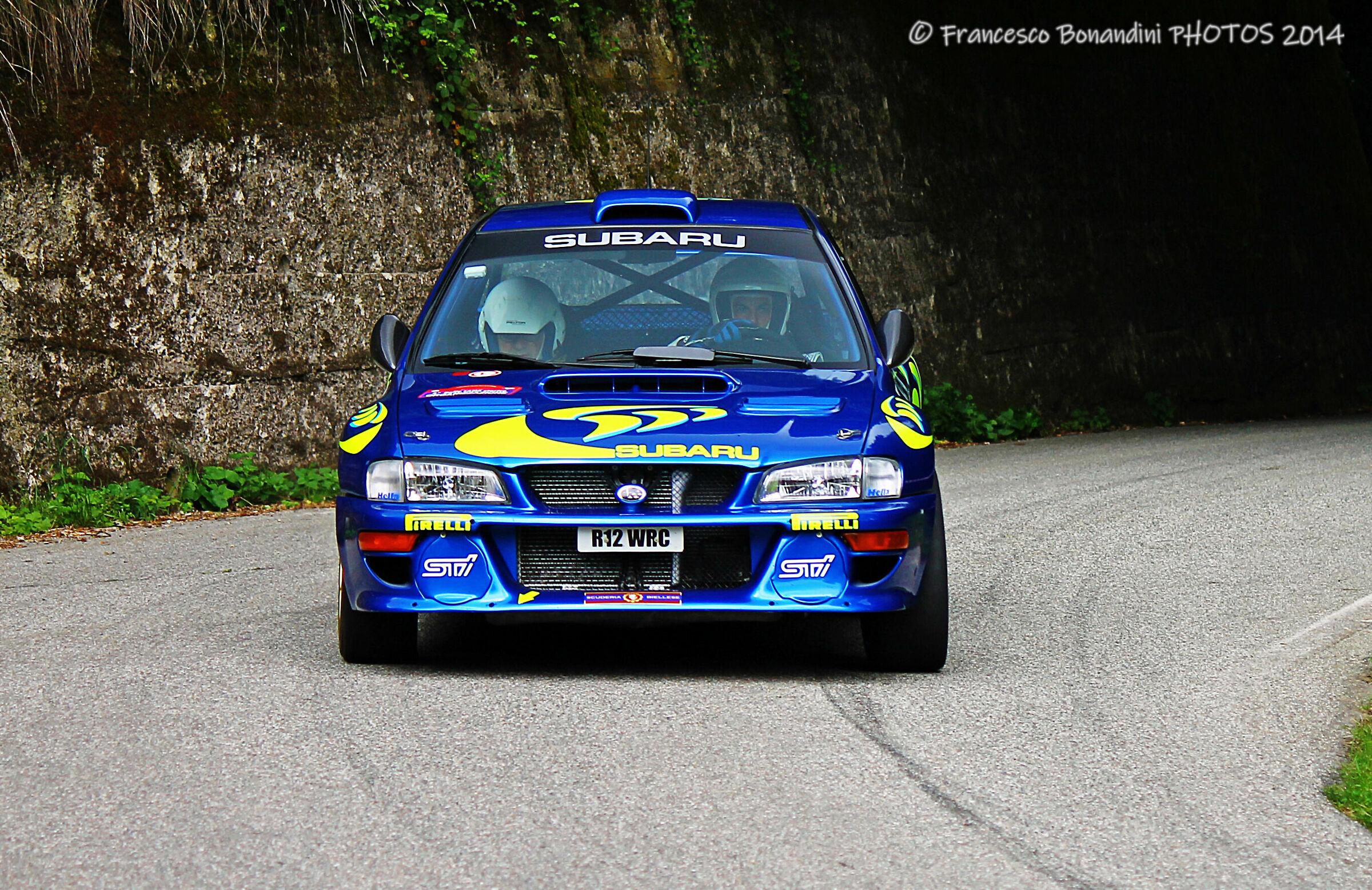 Colin's car...