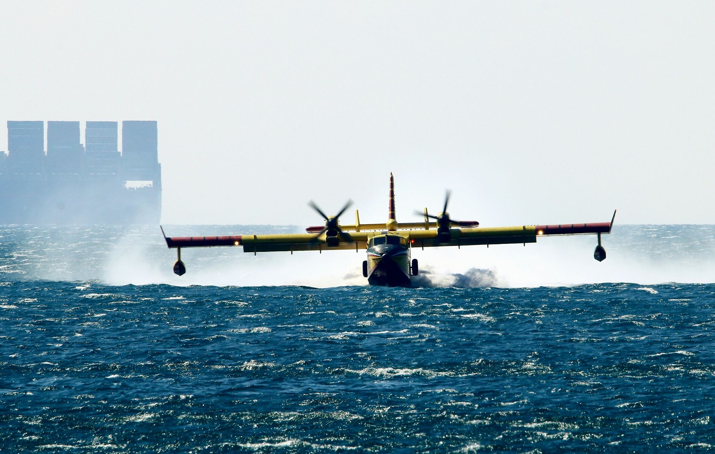 Canadair in action...
