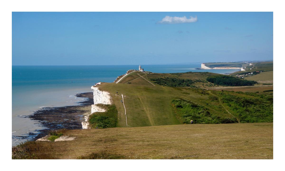 Cliffs of Cornwall...