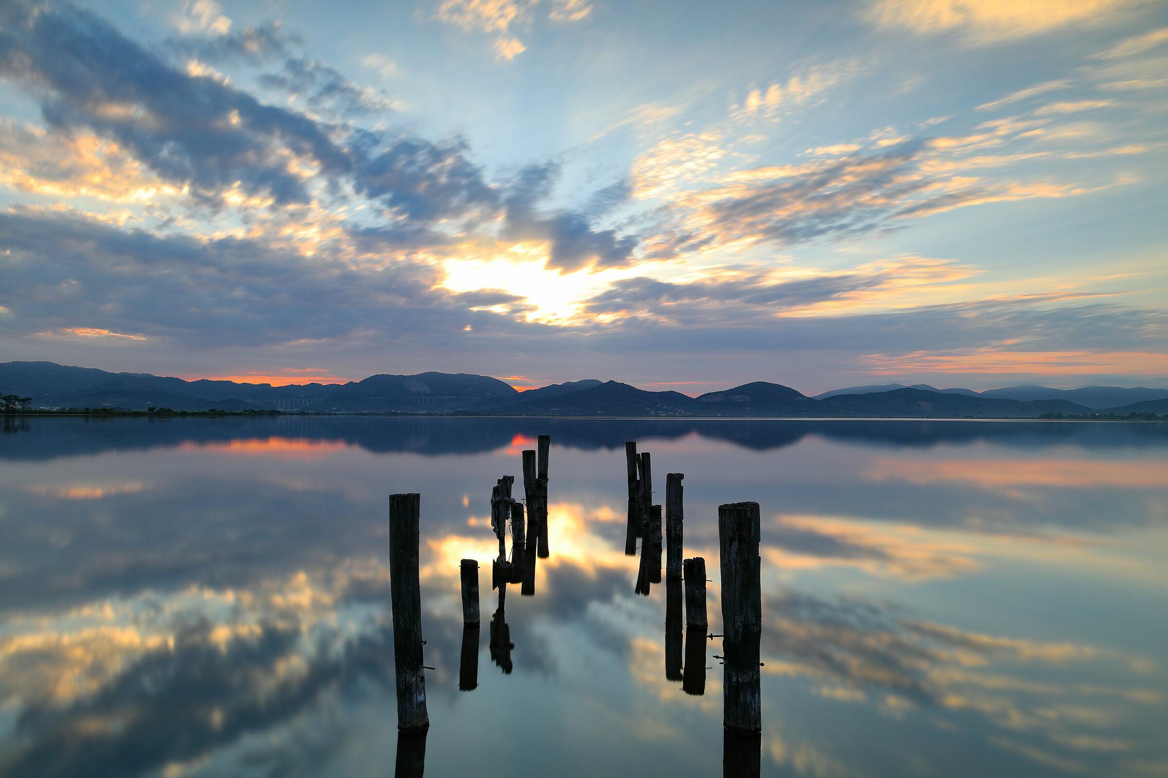 Sunrise at Lake Tower...
