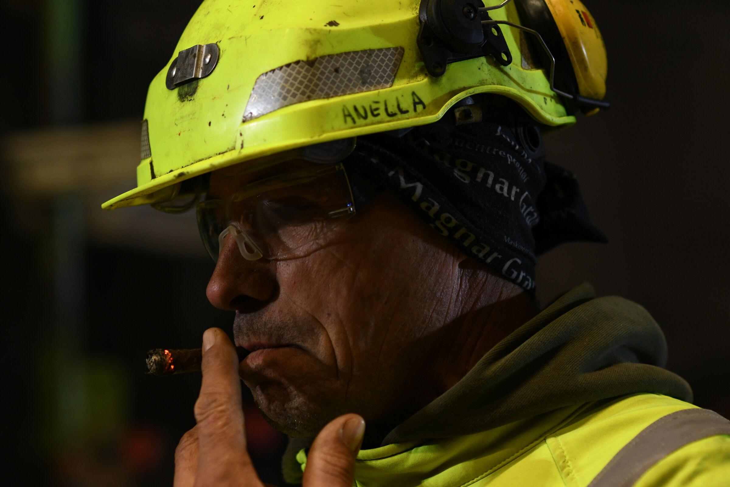 Piero and his cigar 1...