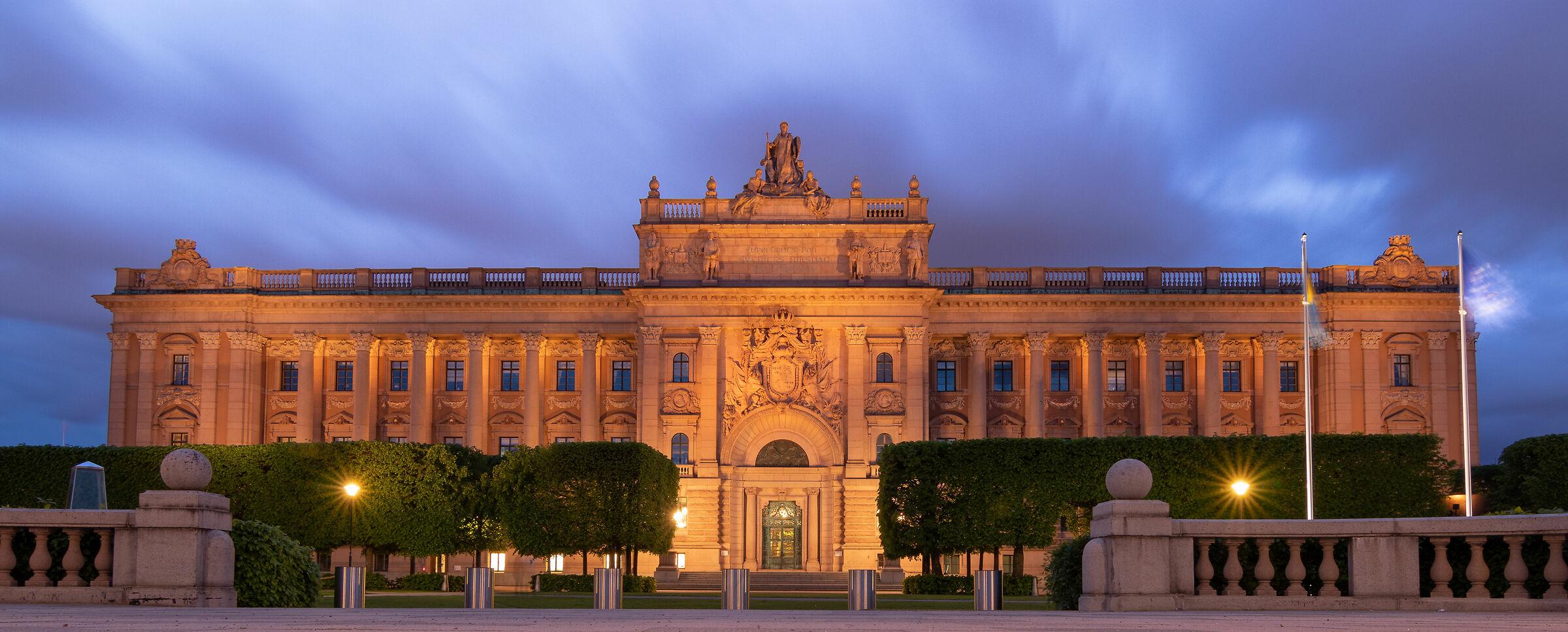 Swedish Parliament House...