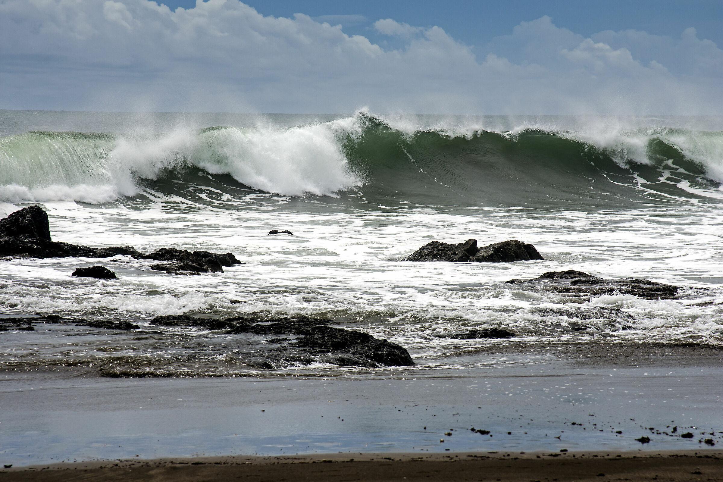 ROUGH SEA...