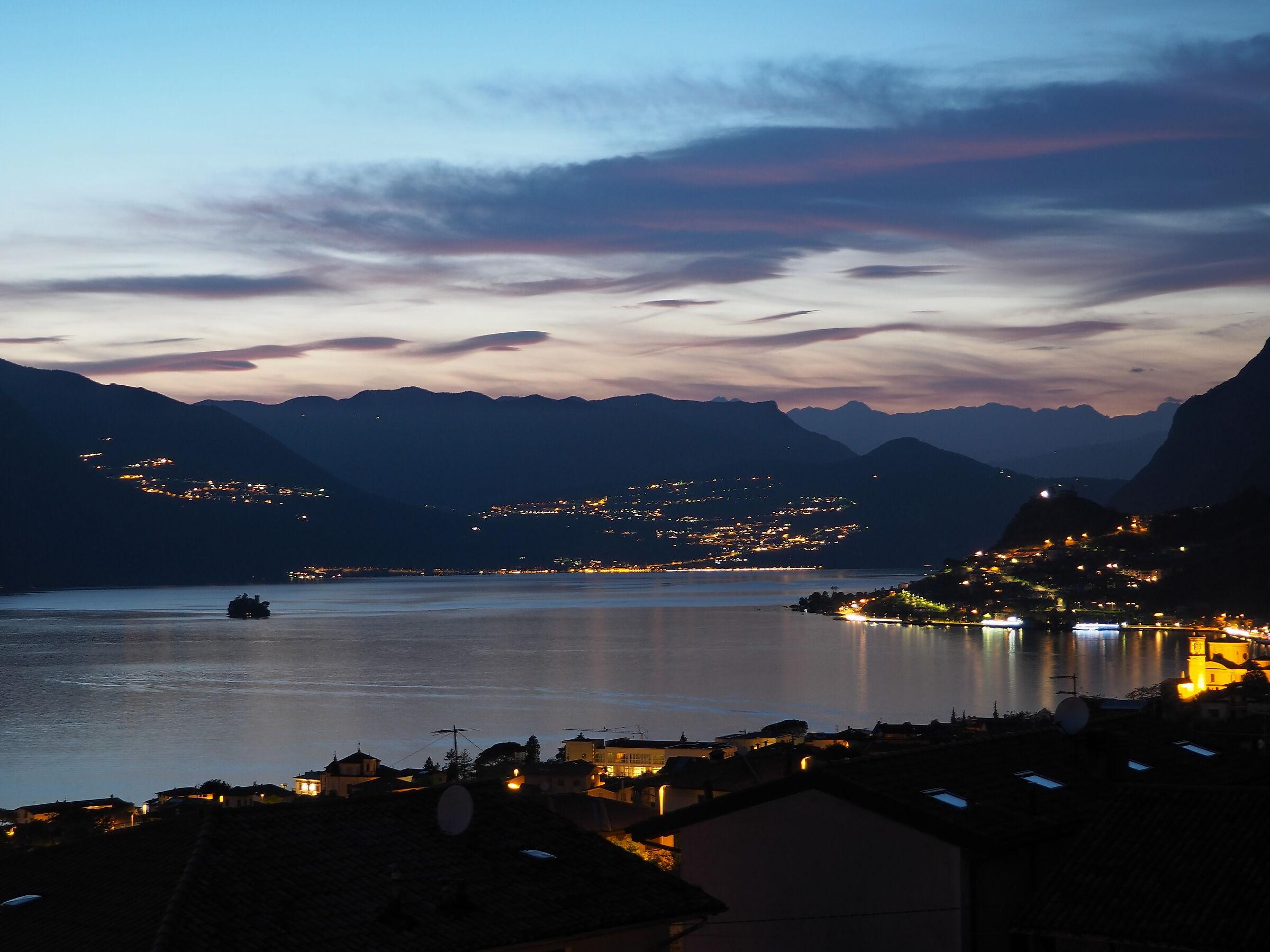 Lake Iseo By Night...