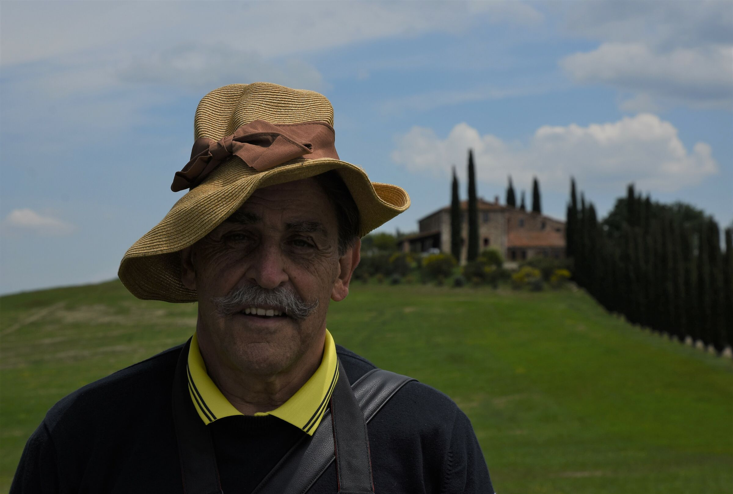 The Scarecrow of Val D'orcia...