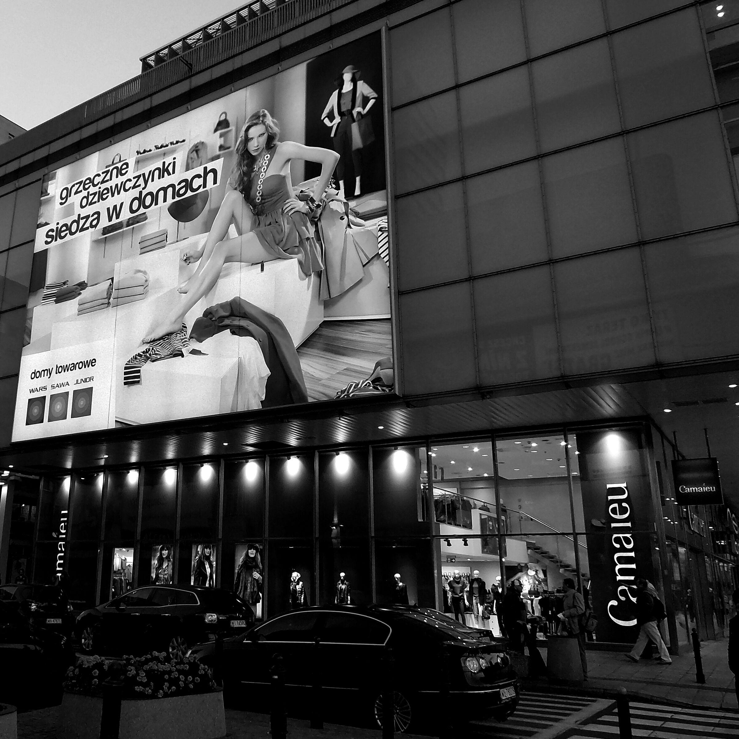 Warsaw street...