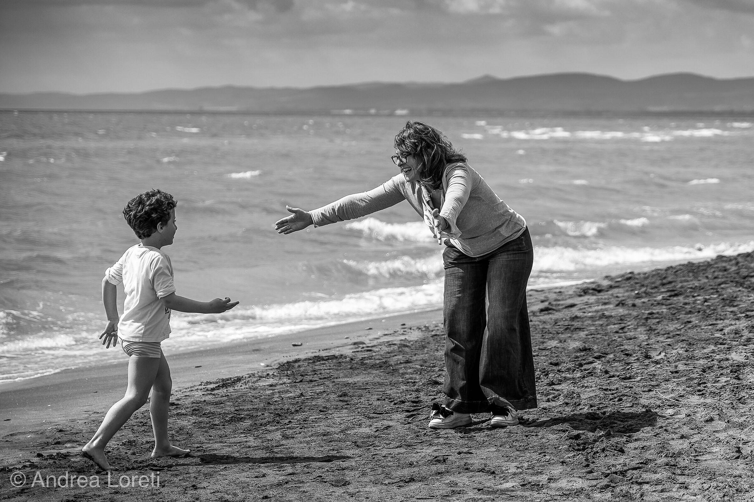 Love between a mum &  her kid...
