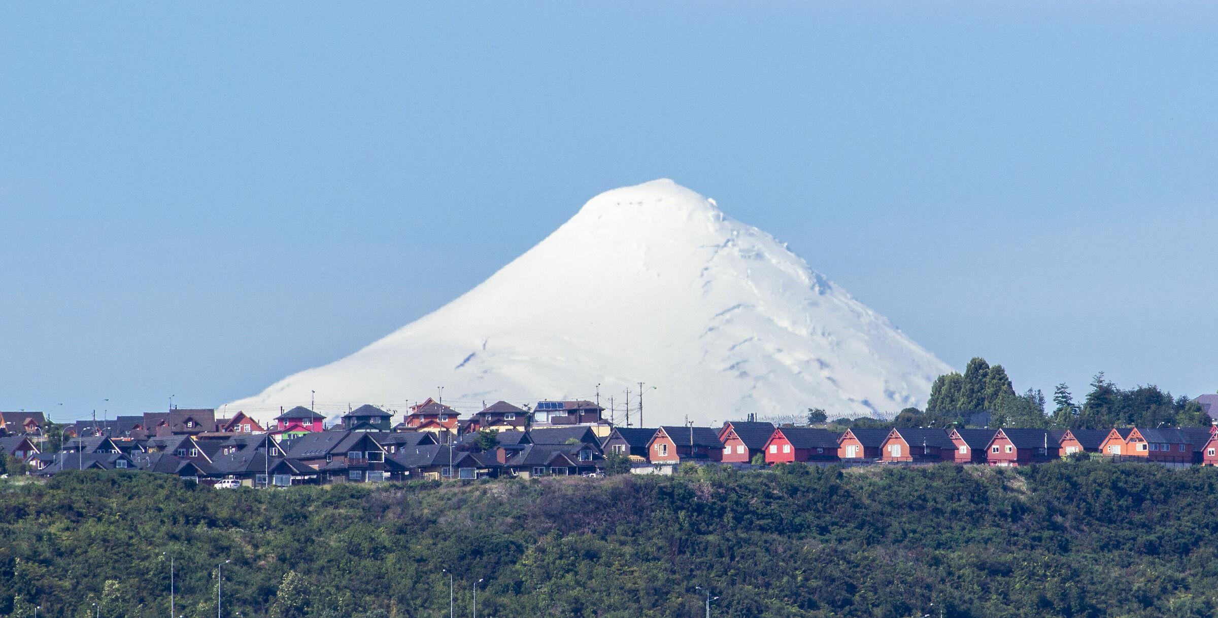 Volcano Osorno...