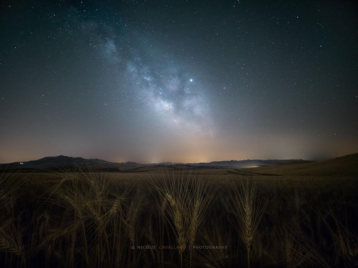 Relaxing Milky Way...
