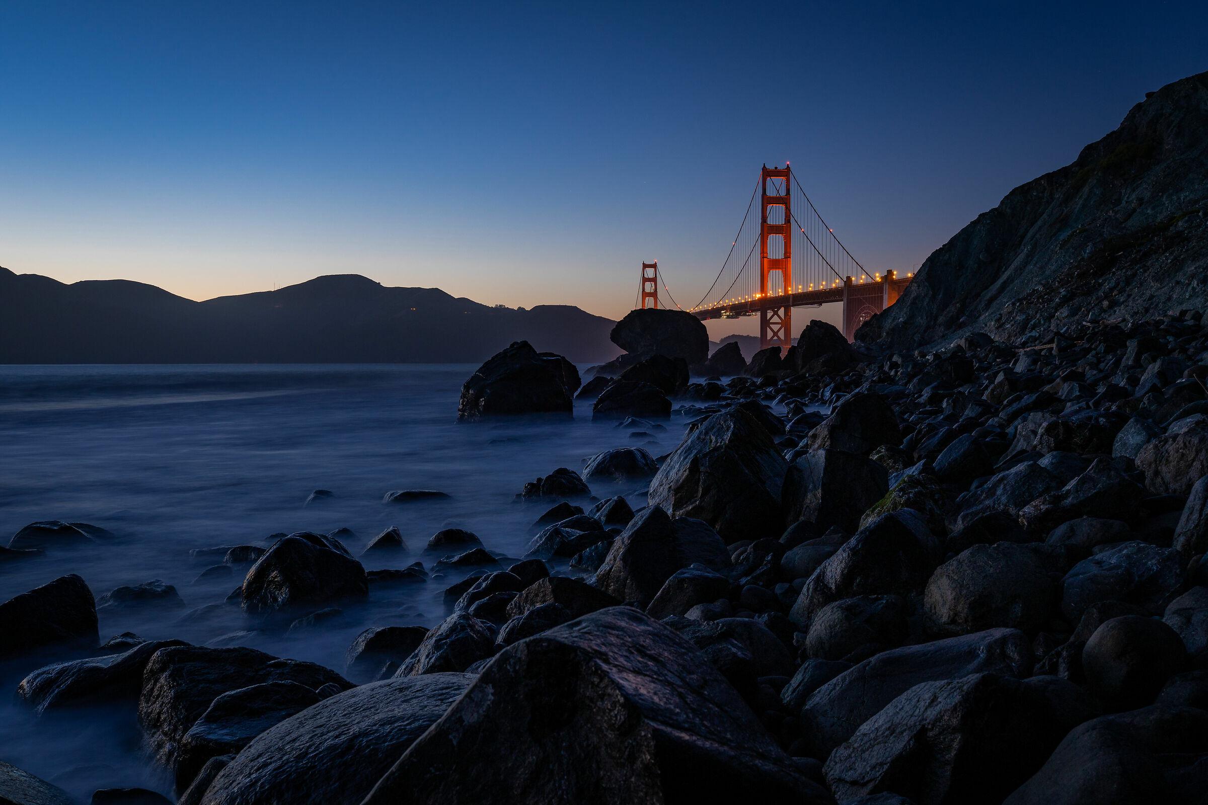 Blue Hour on Golden Gate...