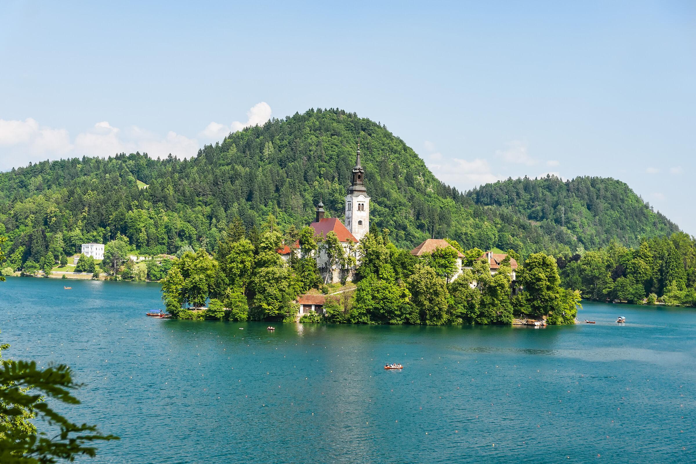 Lago di Bled Slovenia...