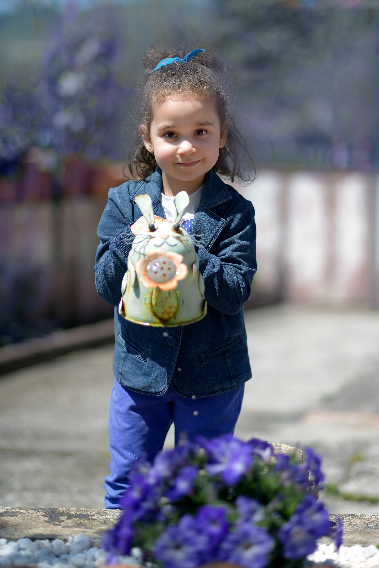 Little florist...