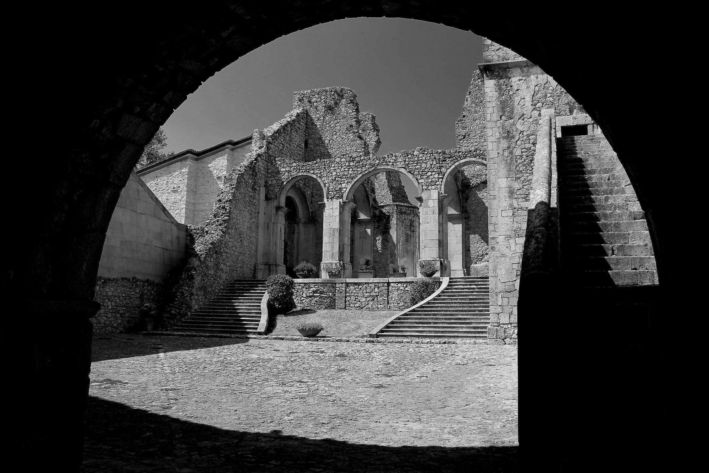 Goleto Abbey...