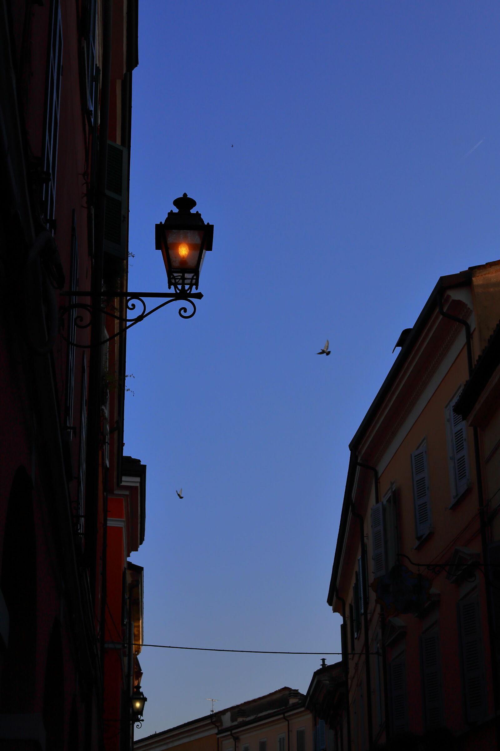 one evening in Guastalla...