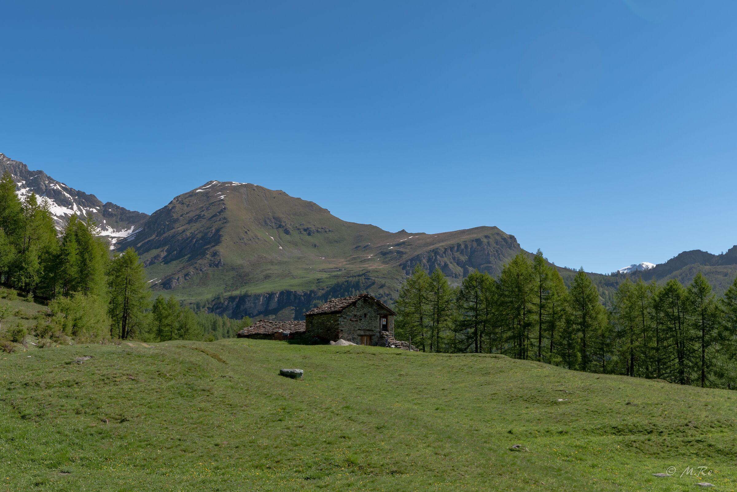 Mountain hut...