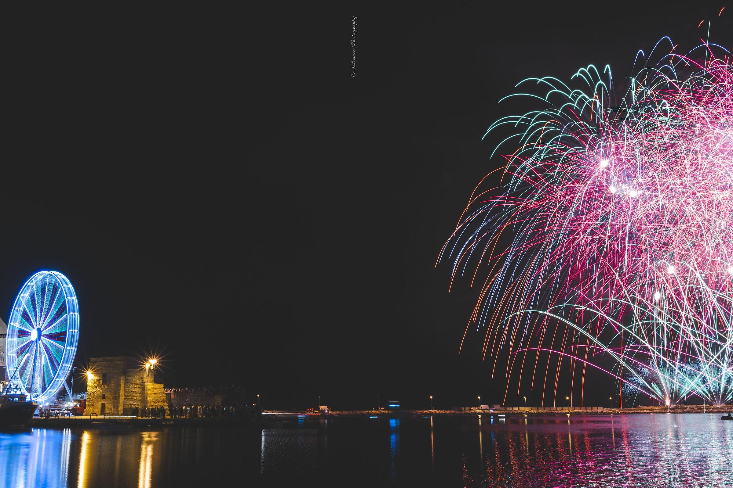Trani Fireworks...