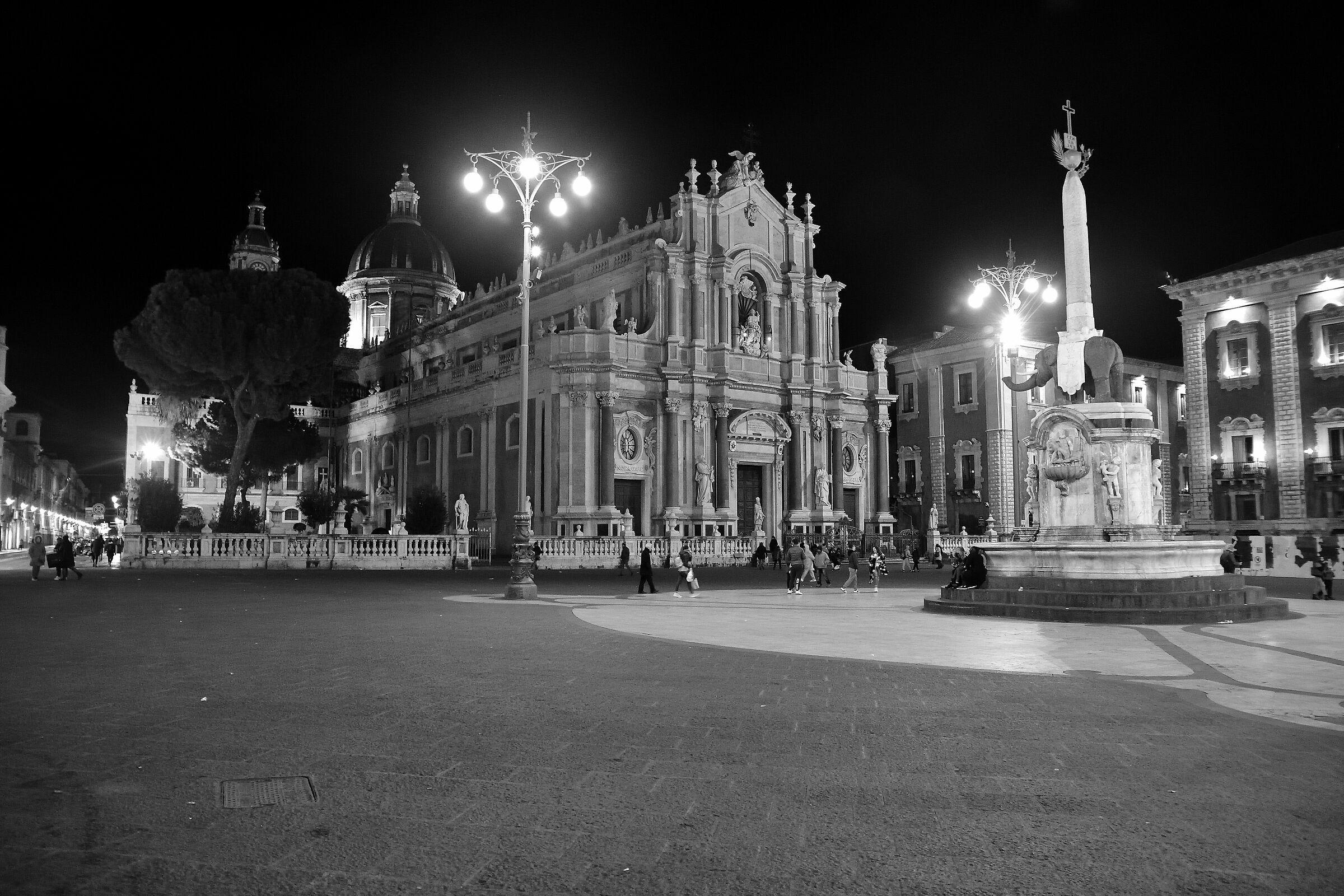St. Agata Cathedral b/n...