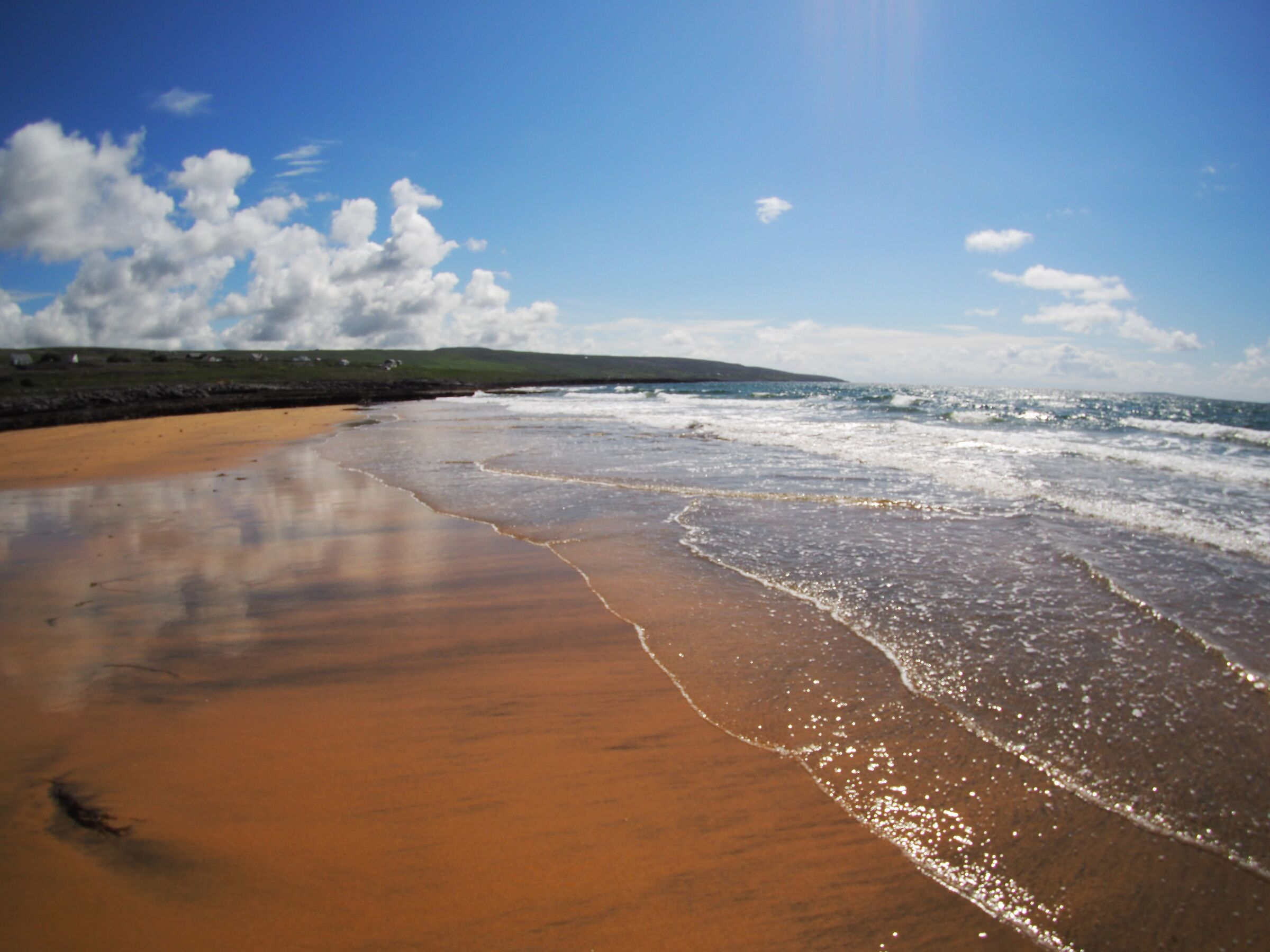 Il cielo d'Irlanda è un oceano di nuvole e luce [cit]...